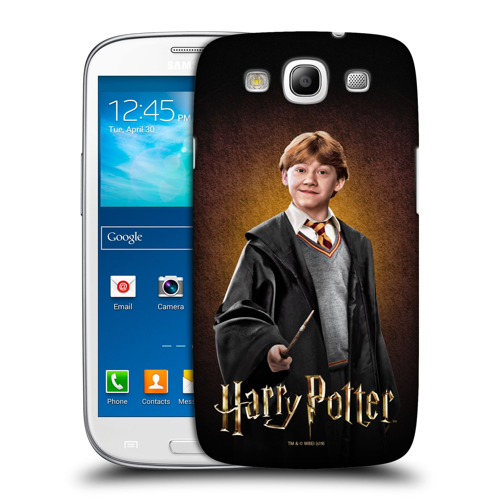 Pouzdro na mobil Samsung Galaxy S3 - HEAD CASE - Ron Weasley