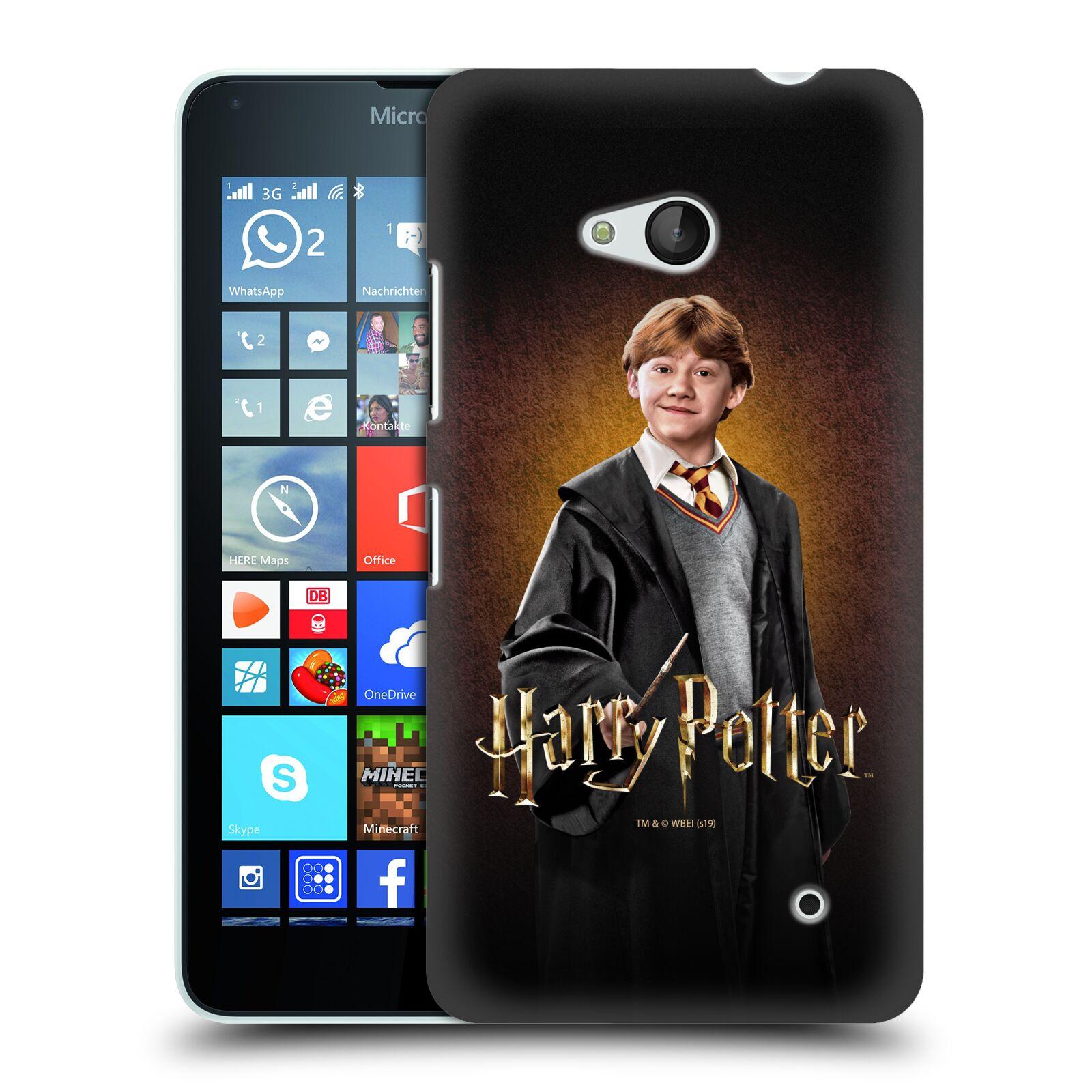 Pouzdro na mobil Microsoft Lumia 640 / 640 DUAL SIM - HEAD CASE - Ron Weasley