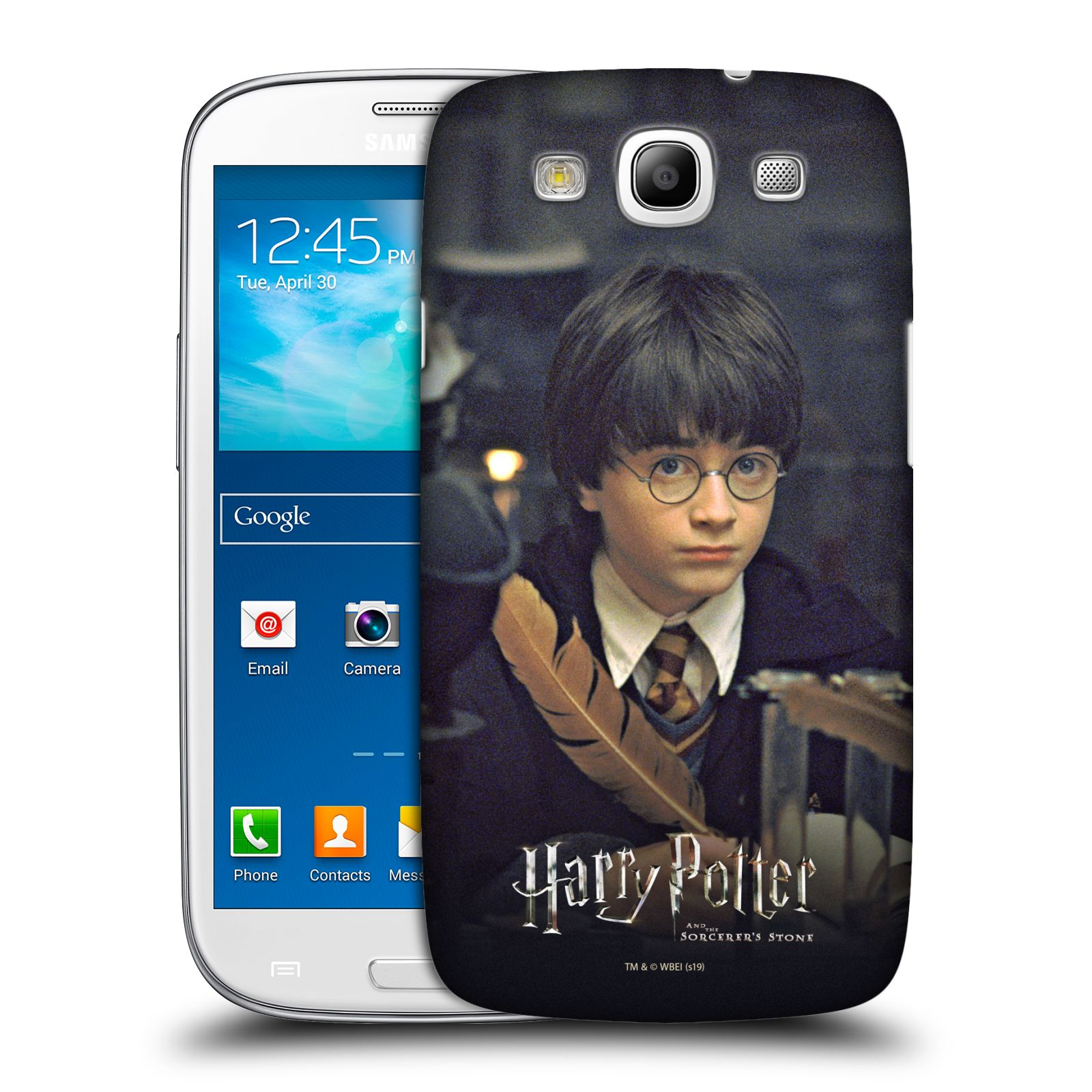 Pouzdro na mobil Samsung Galaxy S3 - HEAD CASE - malý Harry Potter
