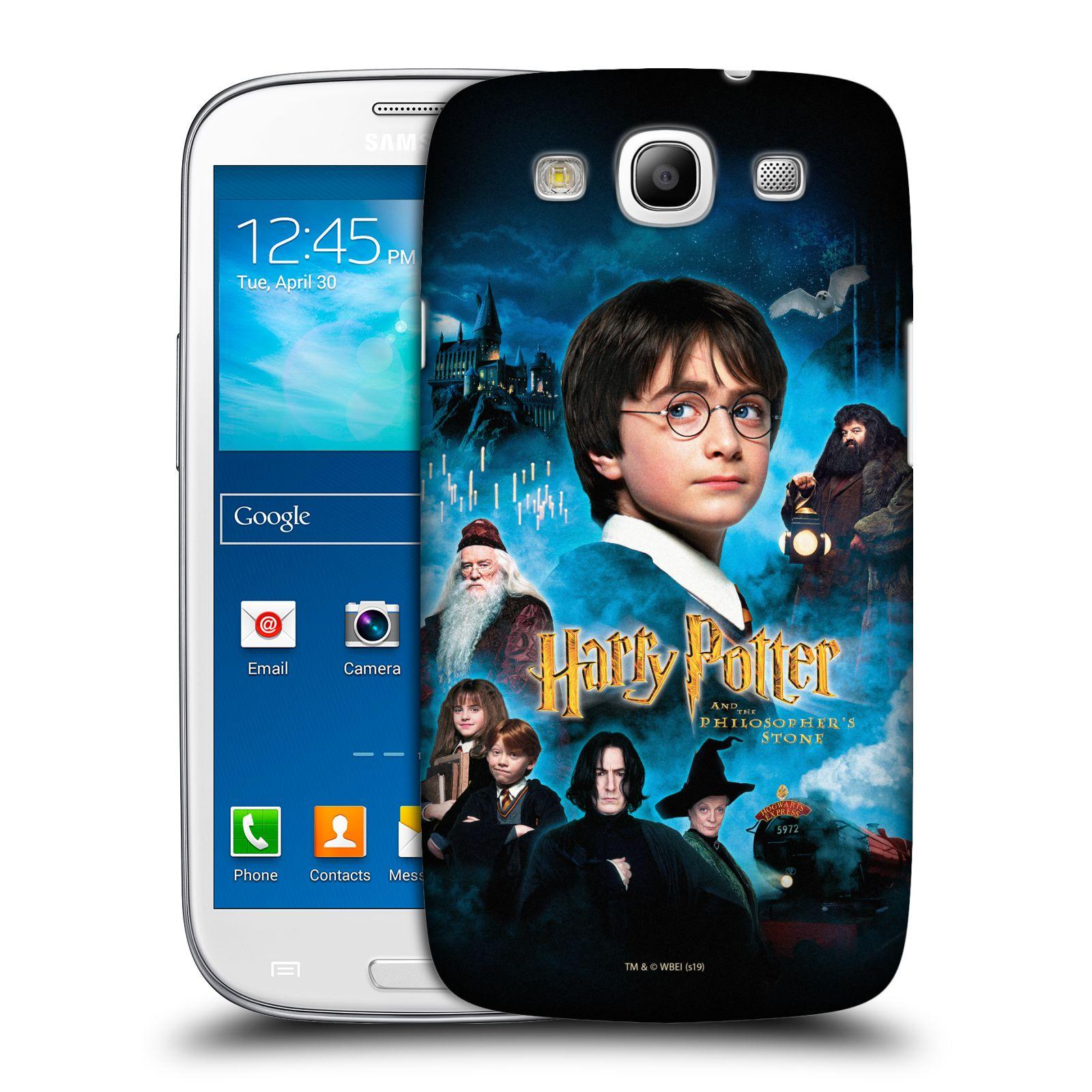 Pouzdro na mobil Samsung Galaxy S3 - HEAD CASE - Harry Potter a přátelé
