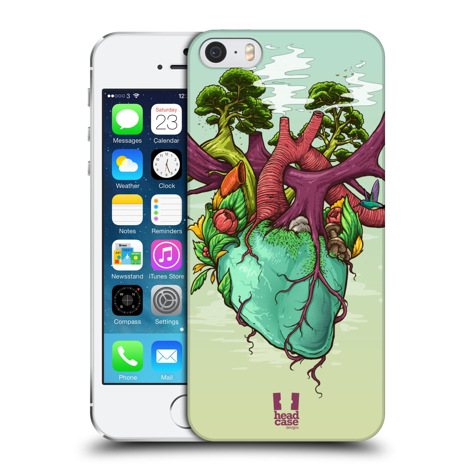 HEAD CASE DESIGNS HUMAN ANATOMY CASE FOR APPLE iPHONE 5 5S