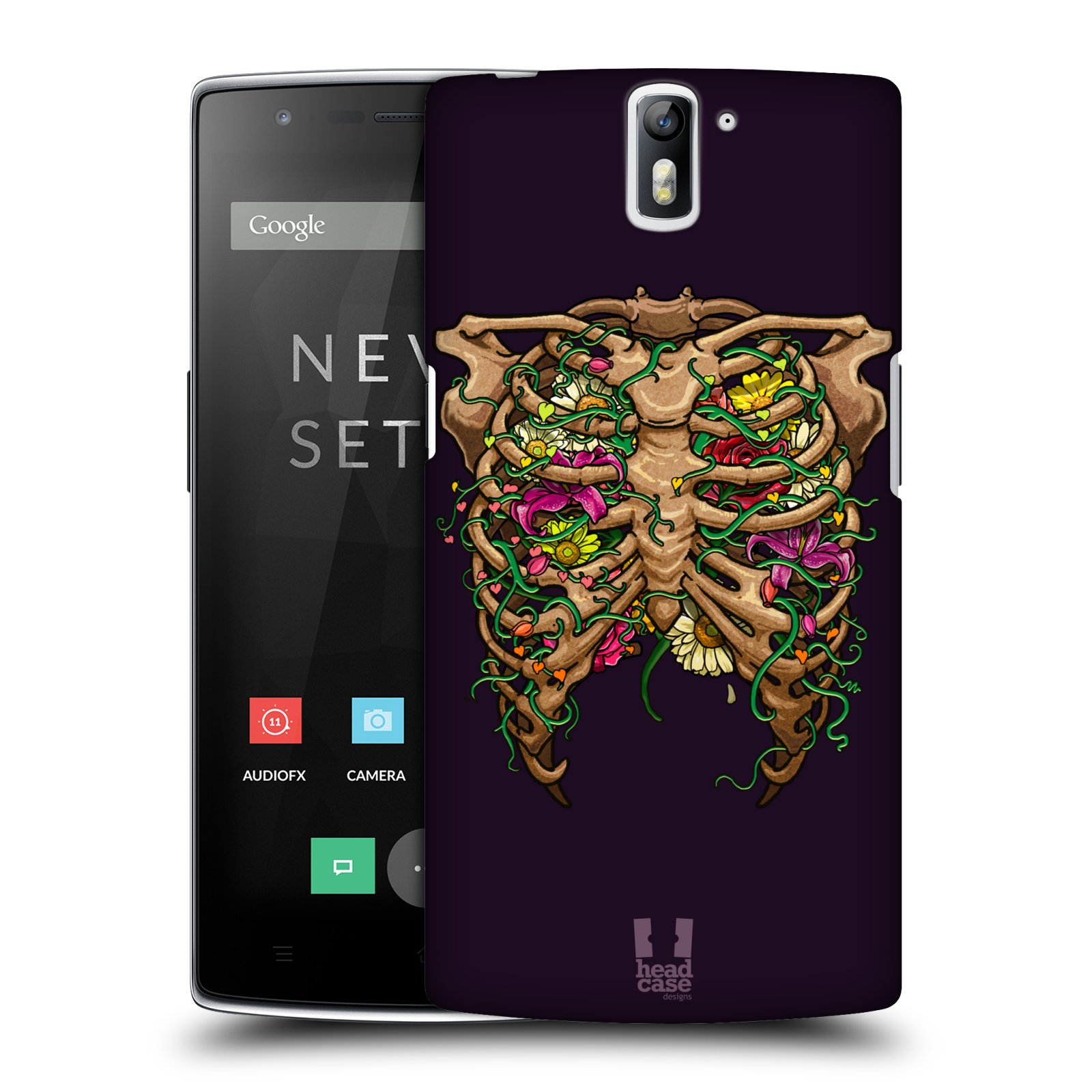 HEAD CASE DESIGNS HUMAN ANATOMY HARD BACK CASE FOR ONEPLUS ONE