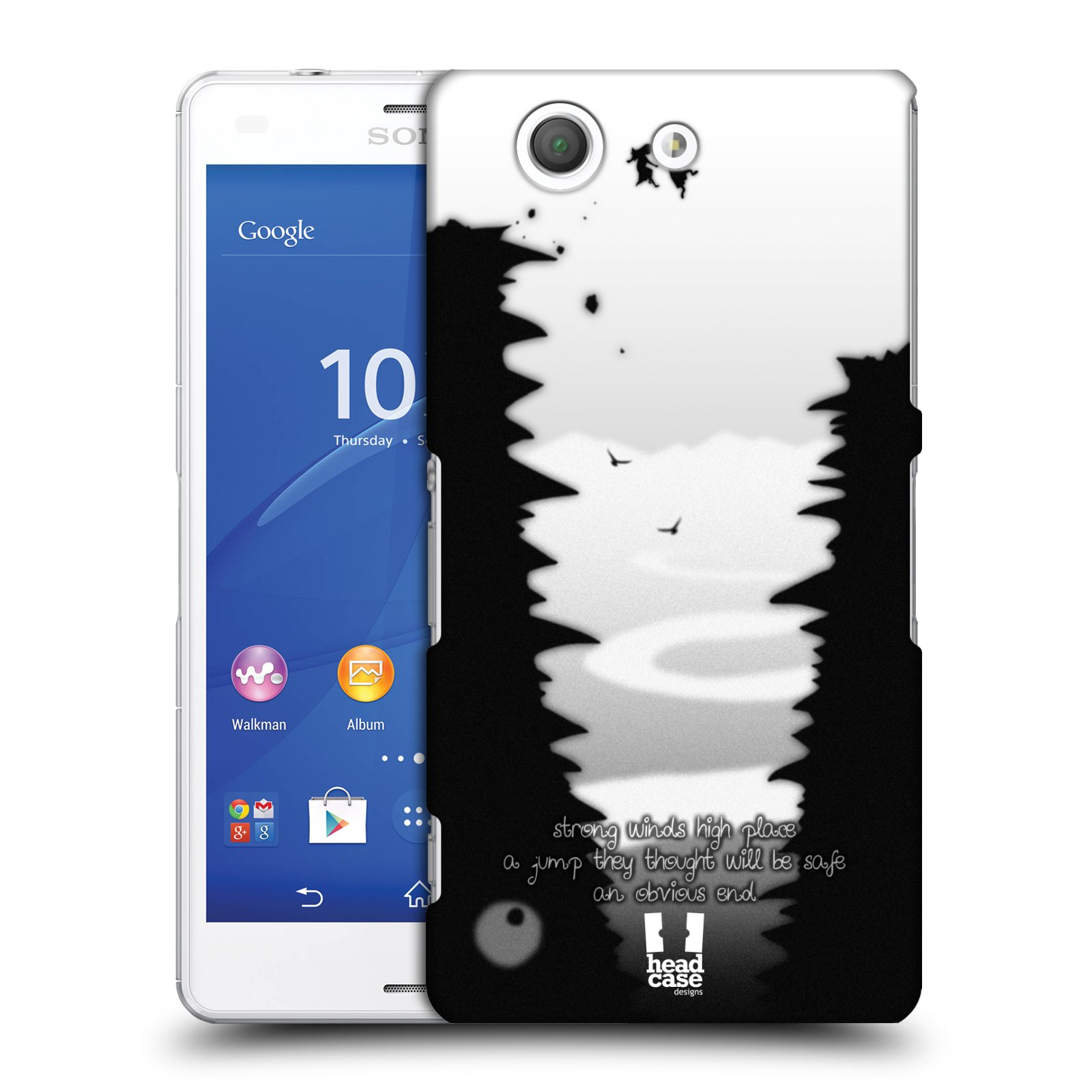 HEAD CASE ILLUSTRATED HAIKU SNAP-ON BACK COVER FOR SONY XPERIA Z3 COMPACT D5833