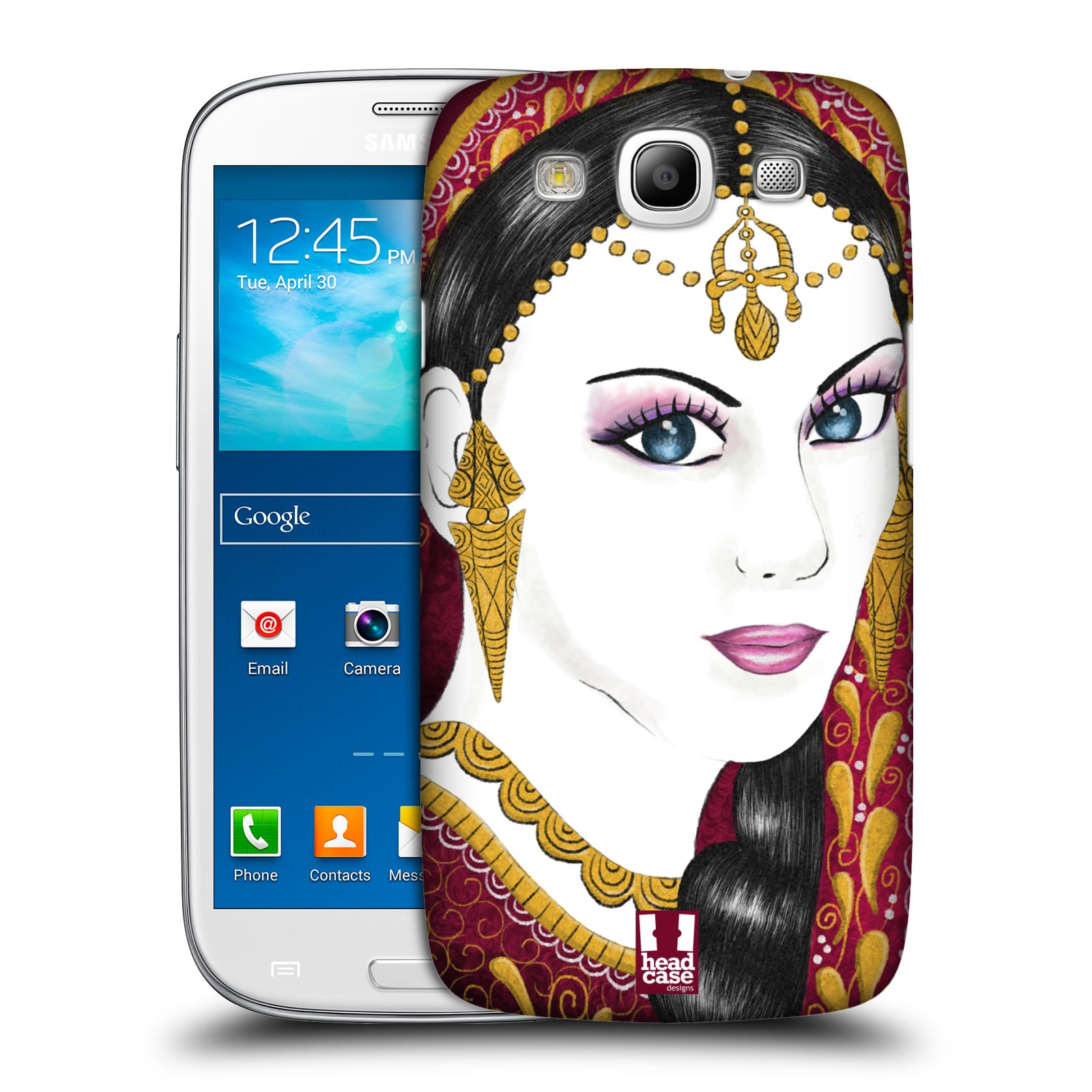 HEAD CASE INDIAN FASHION PROTECTIVE COVER FOR SAMSUNG GALAXY S3 III I9300