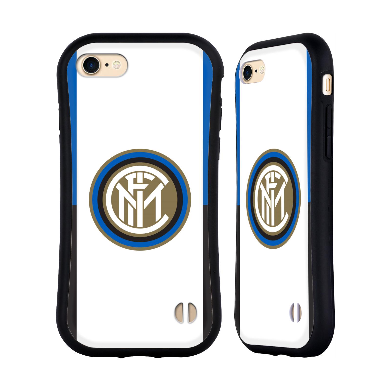 HEAD CASE odolný obal na mobil Apple Iphone 8 Fotbalový klub Inter Milán dres znak bílá