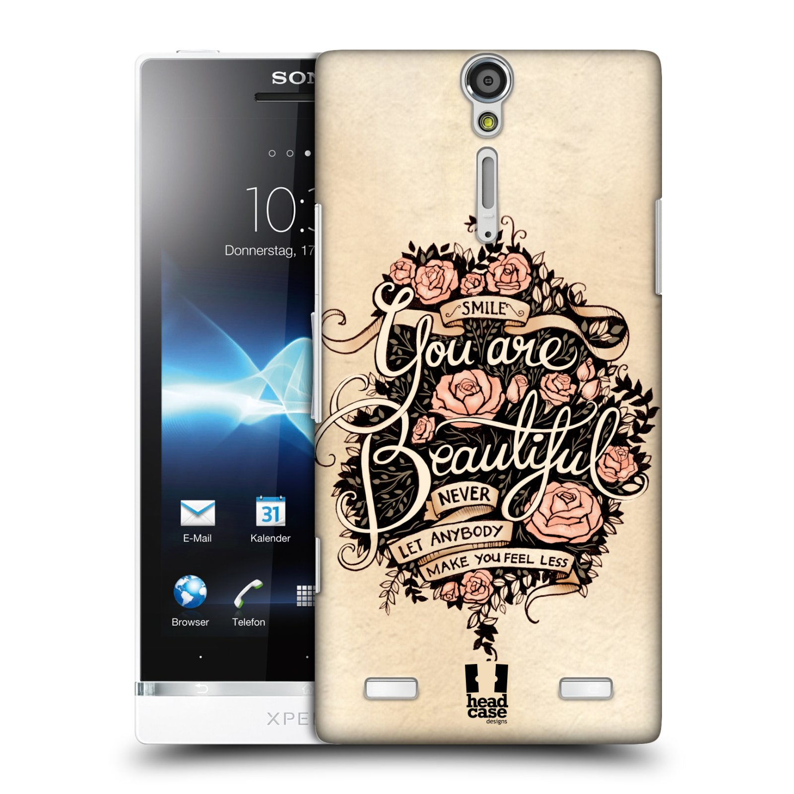 HEAD CASE DESIGNS INTROSPECTION CASE COVER FOR SONY XPERIA S LT26i