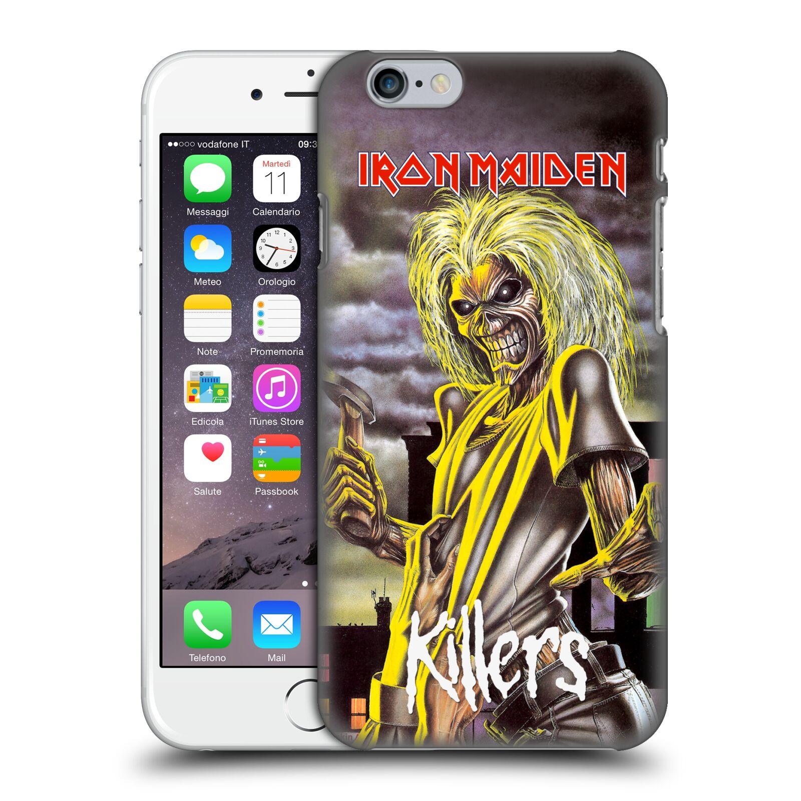 Plastové pouzdro pro mobil Apple Iphone 6/6S Heavymetalová skupina Iron Maiden Killers