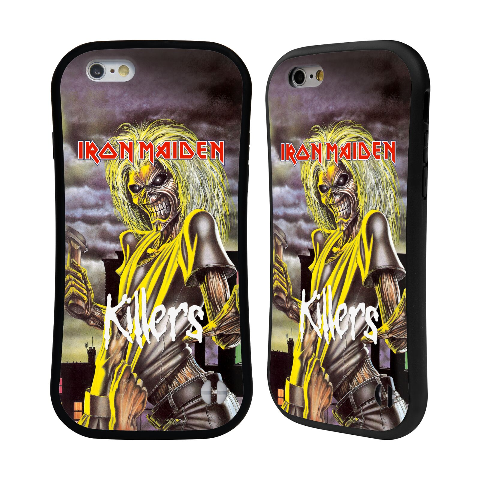 HEAD CASE odolný obal na mobil Apple Iphone 6/6S Heavymetalová skupina Iron Maiden Killers