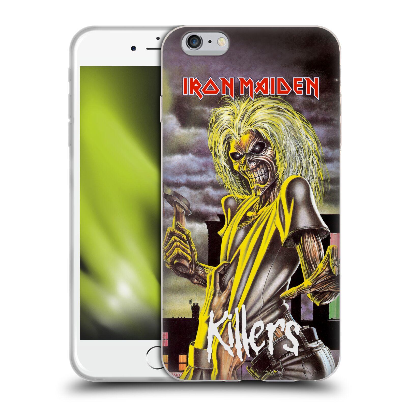 HEAD CASE silikonový obal na mobil Apple Iphone 6/6S PLUS Heavymetalová skupina Iron Maiden Killers