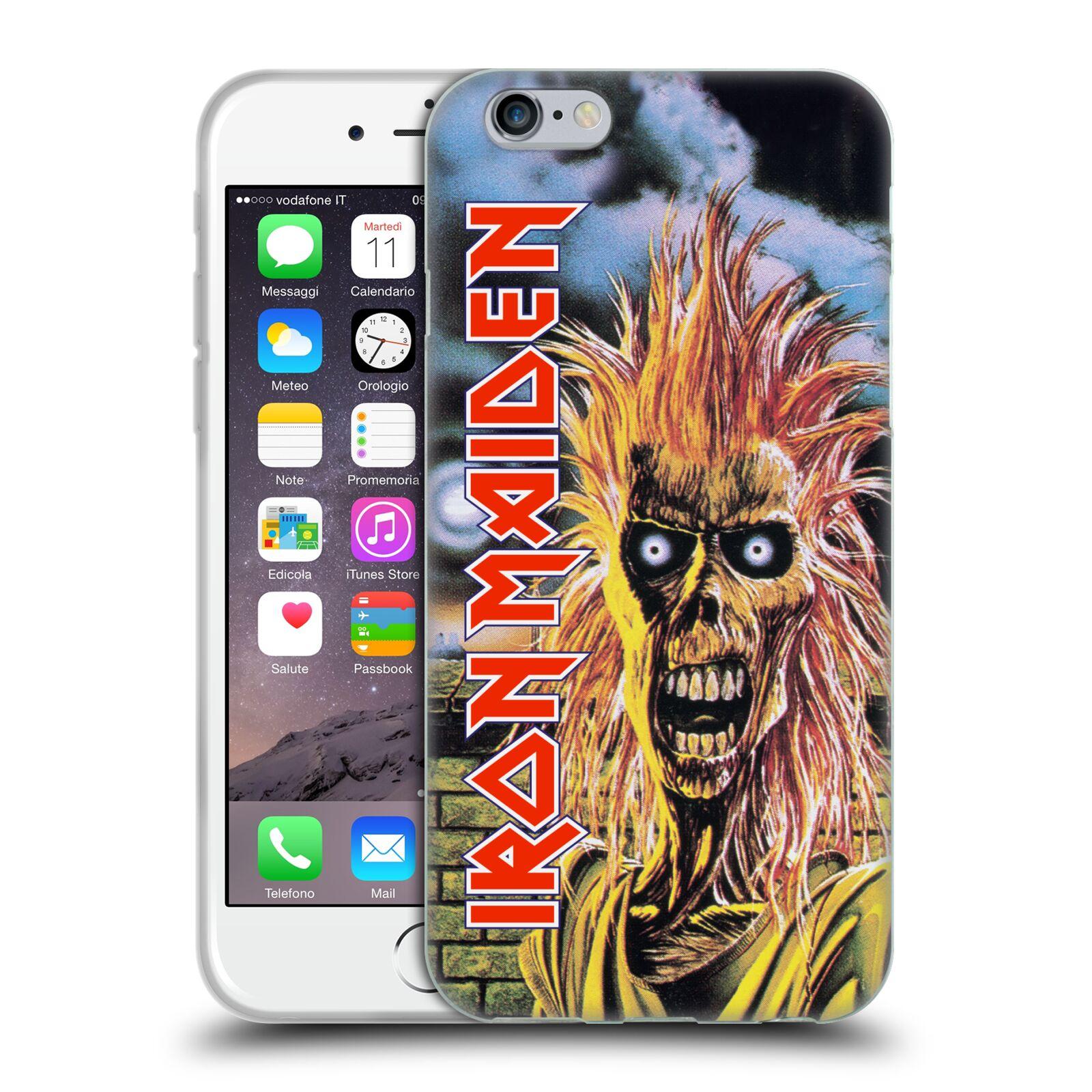 Wallpaper Iphone Iron Maiden: OFFICIAL IRON MAIDEN ART SOFT GEL CASE FOR APPLE IPHONE