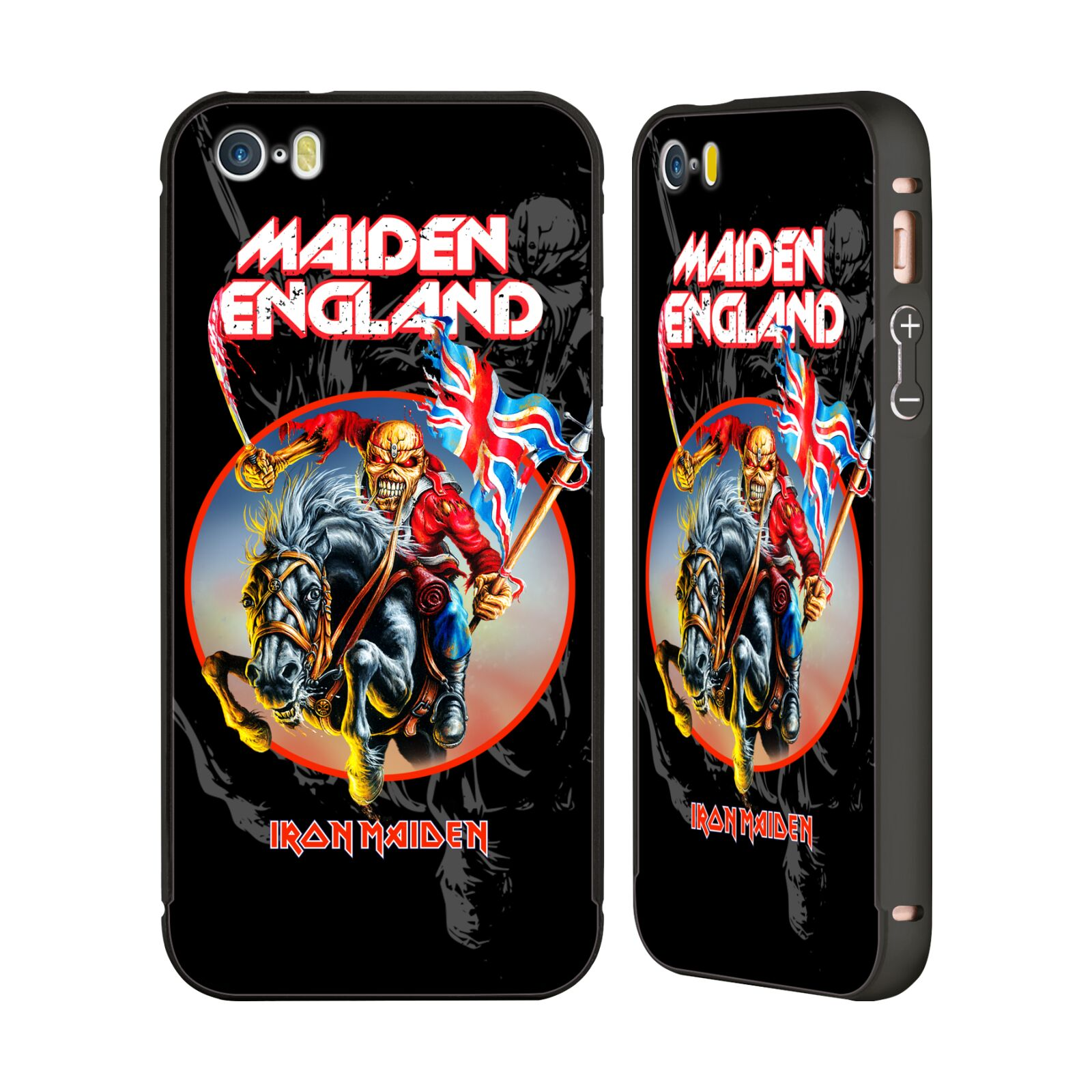 Wallpaper Iphone Iron Maiden: OFFICIAL IRON MAIDEN TOURS BLACK BUMPER SLIDER CASE FOR