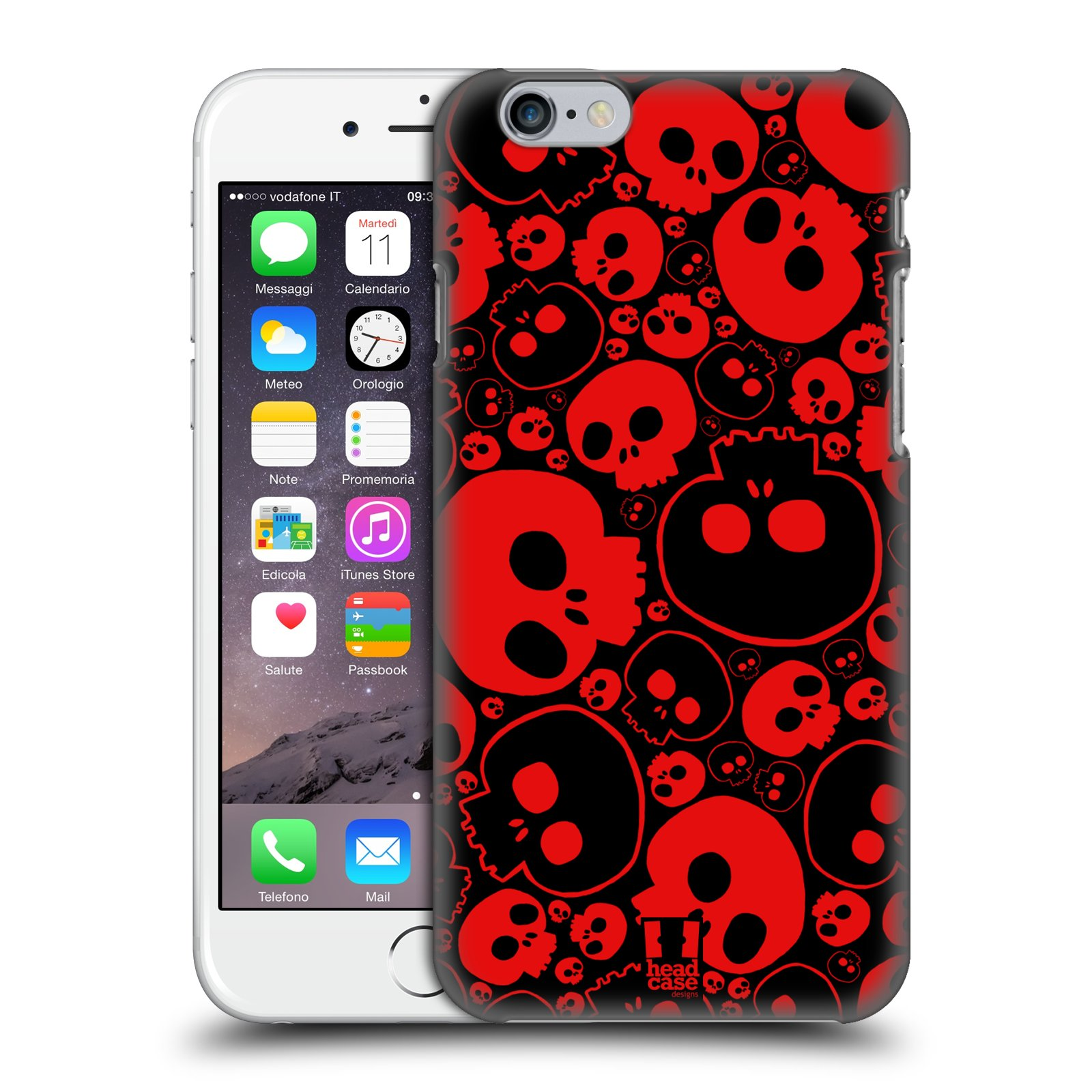 HEAD-CASE-DESIGNS-JAZZY-SKULL-HARD-BACK-CASE-FOR-APPLE-iPHONE-6S