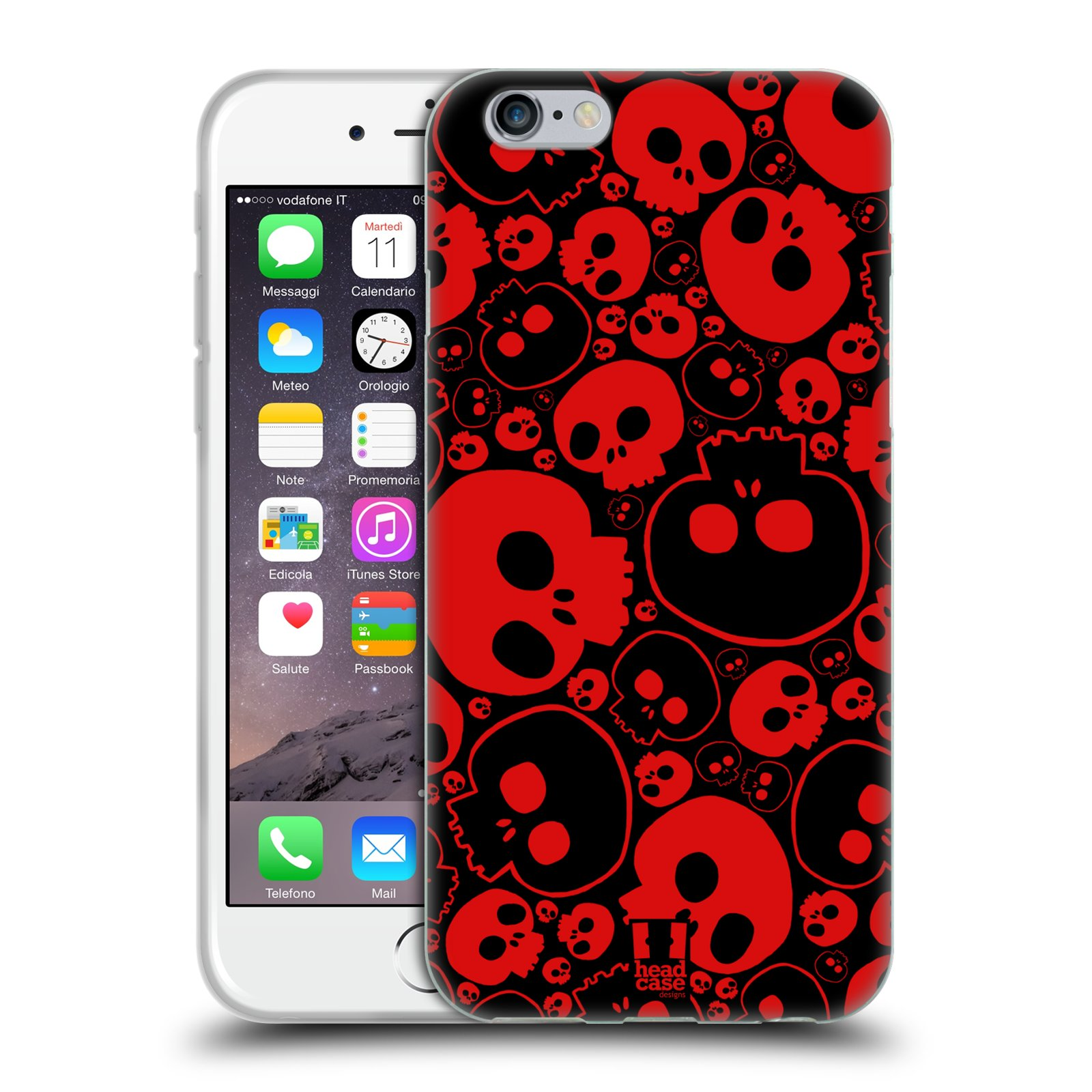 HEAD-CASE-JAZZY-SKULL-GEL-BACK-CASE-COVER-FOR-APPLE-iPHONE-6-4-7