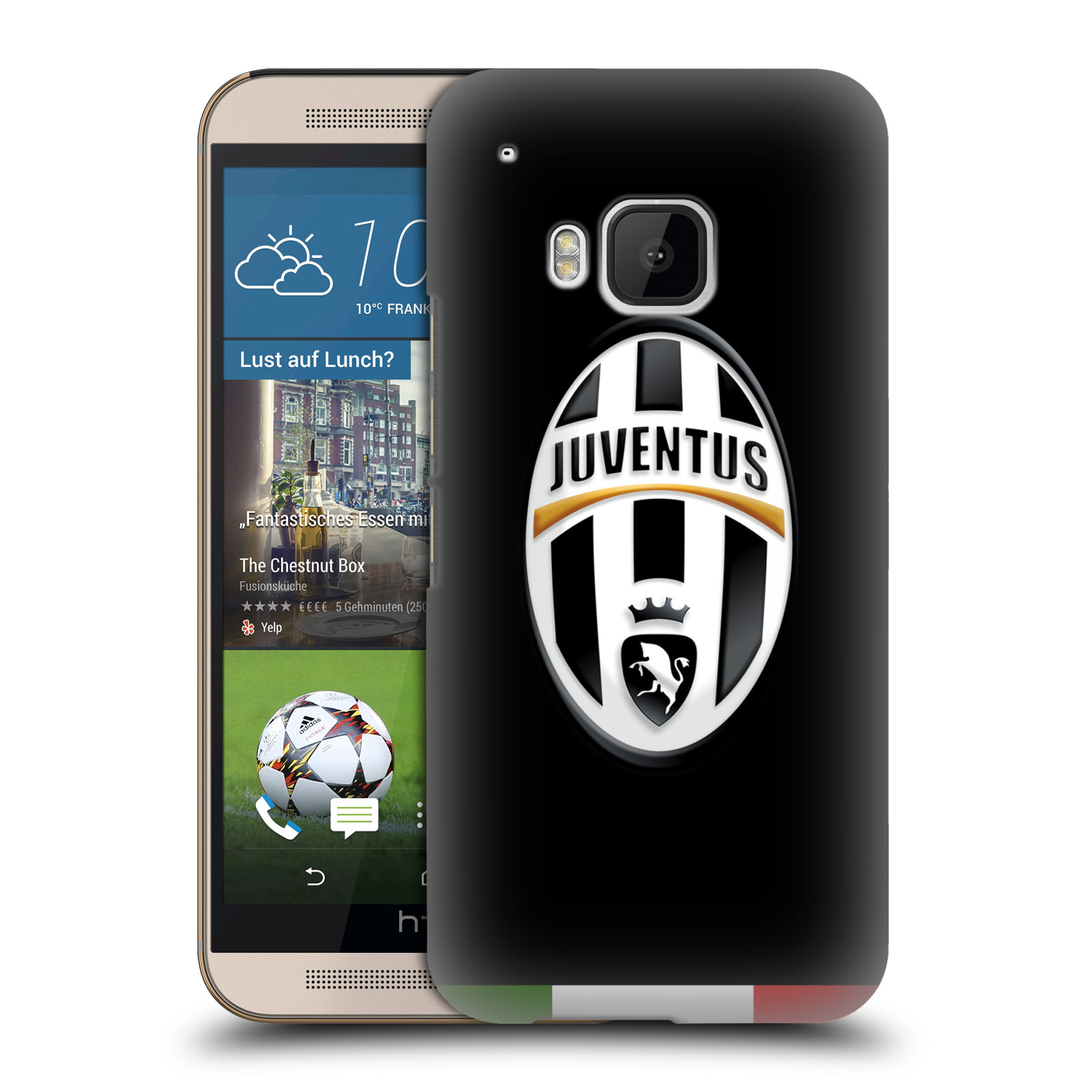 OFFICIAL JUVENTUS FOOTBALL CLUB CREST HARD BACK CASE FOR HTC PHONES 1