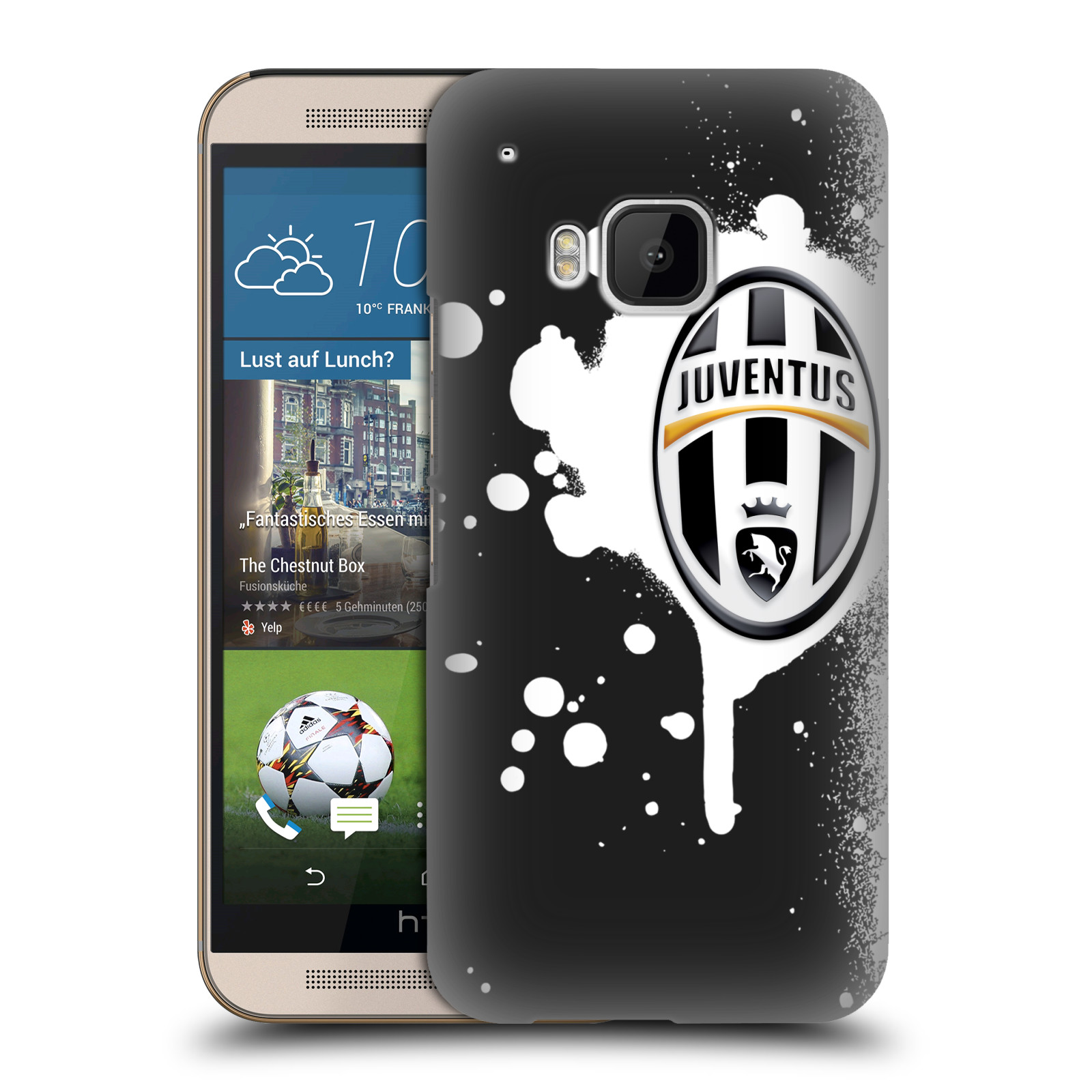 OFFICIAL JUVENTUS FOOTBALL CLUB GRAFICA HARD BACK CASE FOR HTC PHONES 1