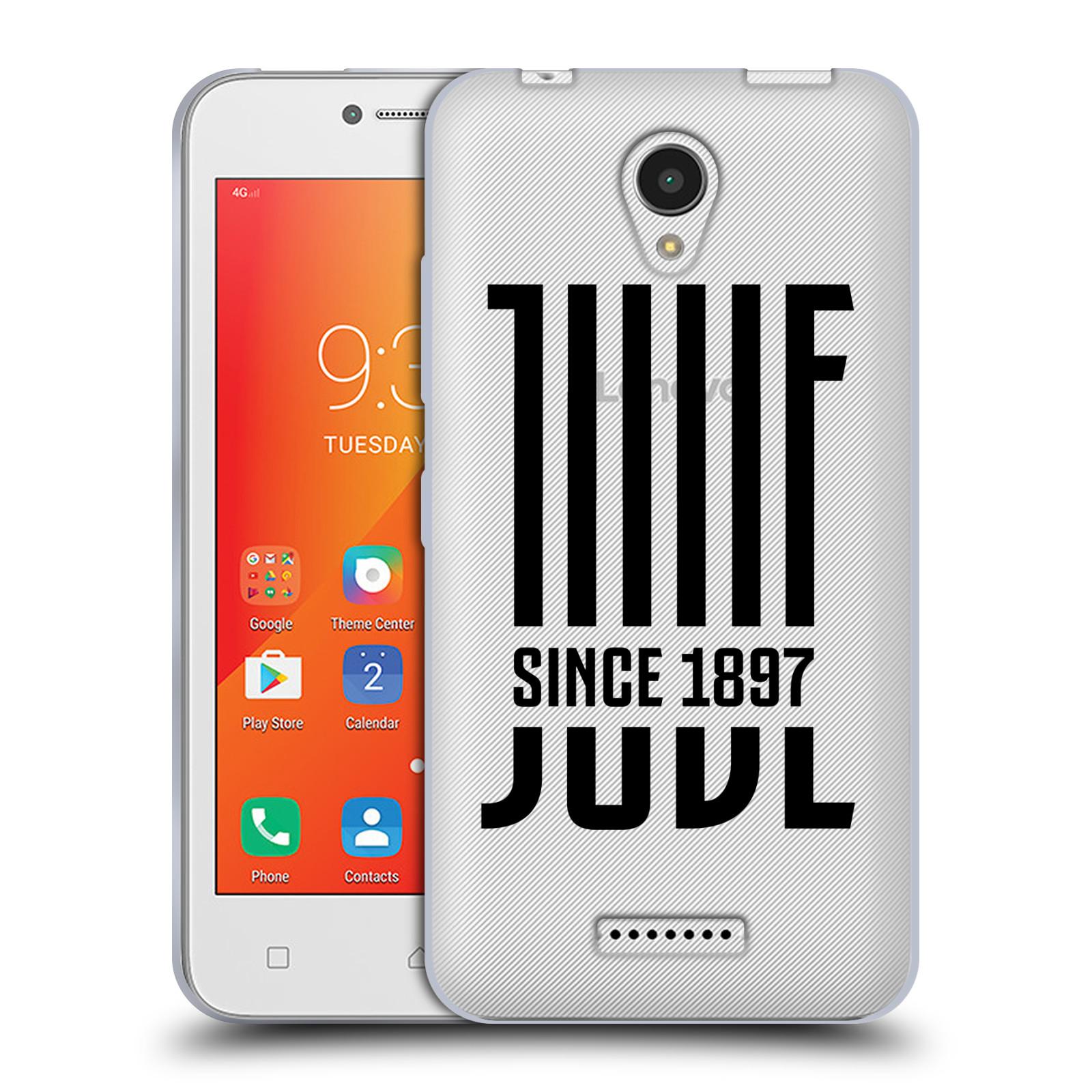 HEAD CASE silikonový obal na mobil Lenovo A PLUS Fotbalový klub Juventus FC  průhledný černá JUVE 459c97ce9e5