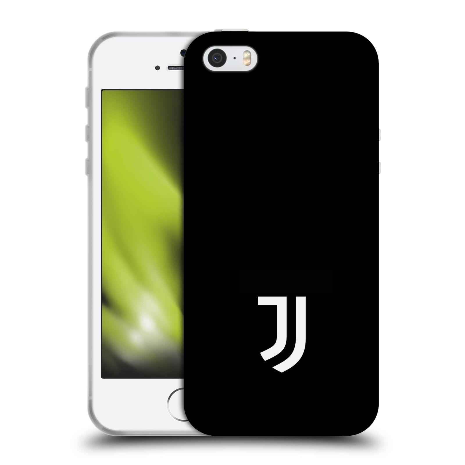 HEAD CASE silikonový obal na mobil Apple Iphone 5 5S Fotbalový klub  Juventus FC černé pozadí bílý znak malý 3e15d443896