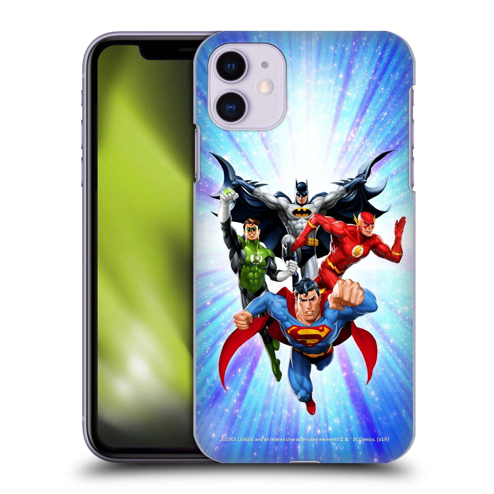 Pouzdro na mobil Apple Iphone 11 - HEAD CASE - DC komix Liga Spravedlivých hrdinové