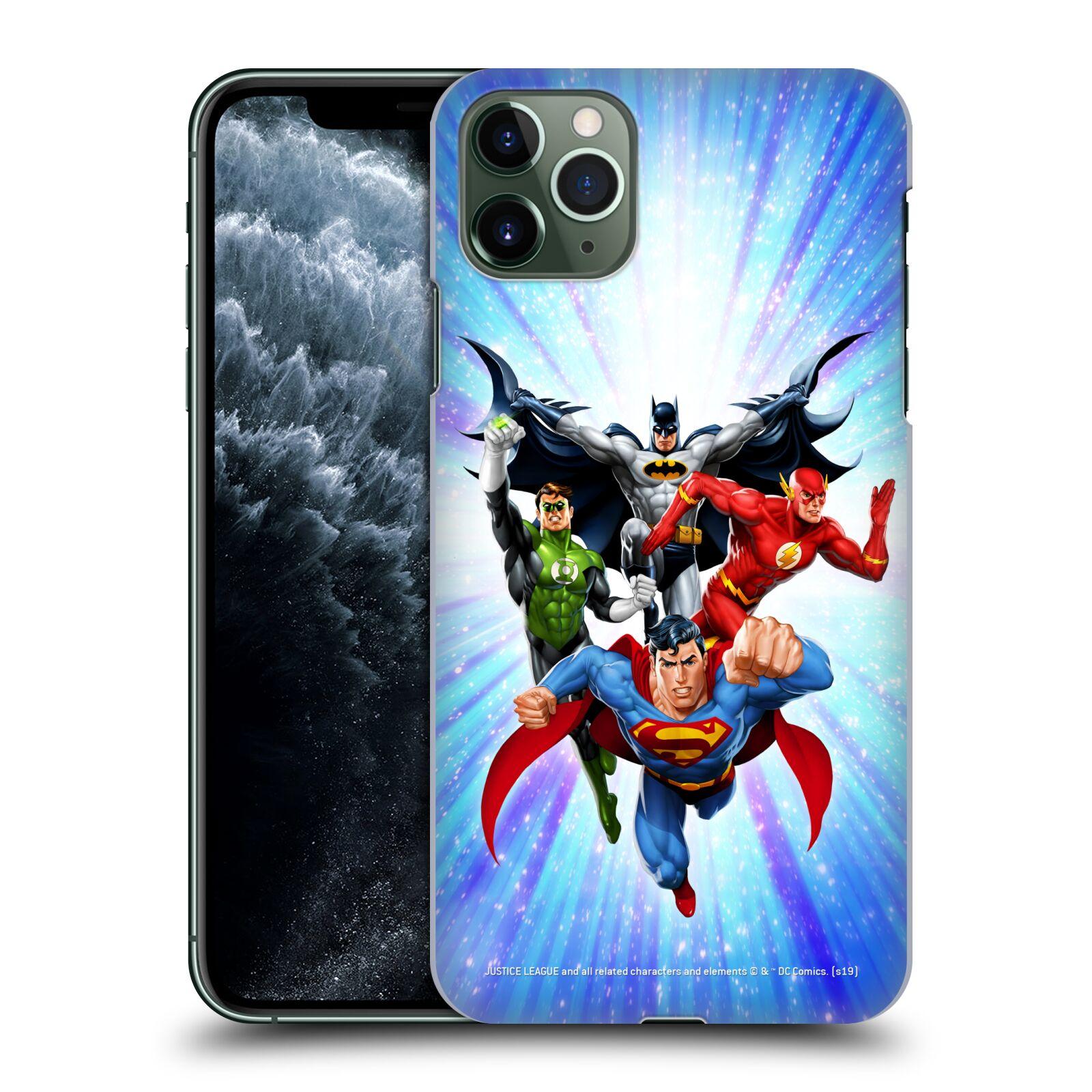 Pouzdro na mobil Apple Iphone 11 PRO MAX - HEAD CASE - DC komix Liga Spravedlivých hrdinové