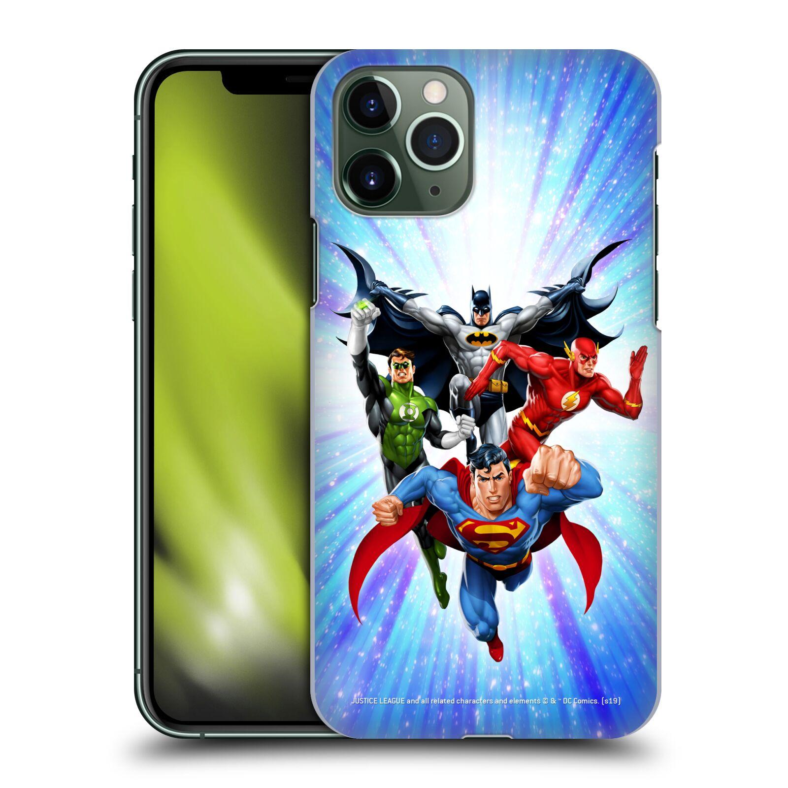 Pouzdro na mobil Apple Iphone 11 PRO - HEAD CASE - DC komix Liga Spravedlivých hrdinové