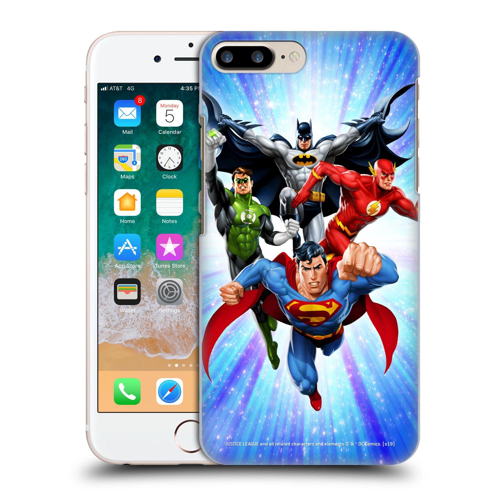 Pouzdro na mobil Apple Iphone 7/8 PLUS - HEAD CASE - DC komix Liga Spravedlivých hrdinové