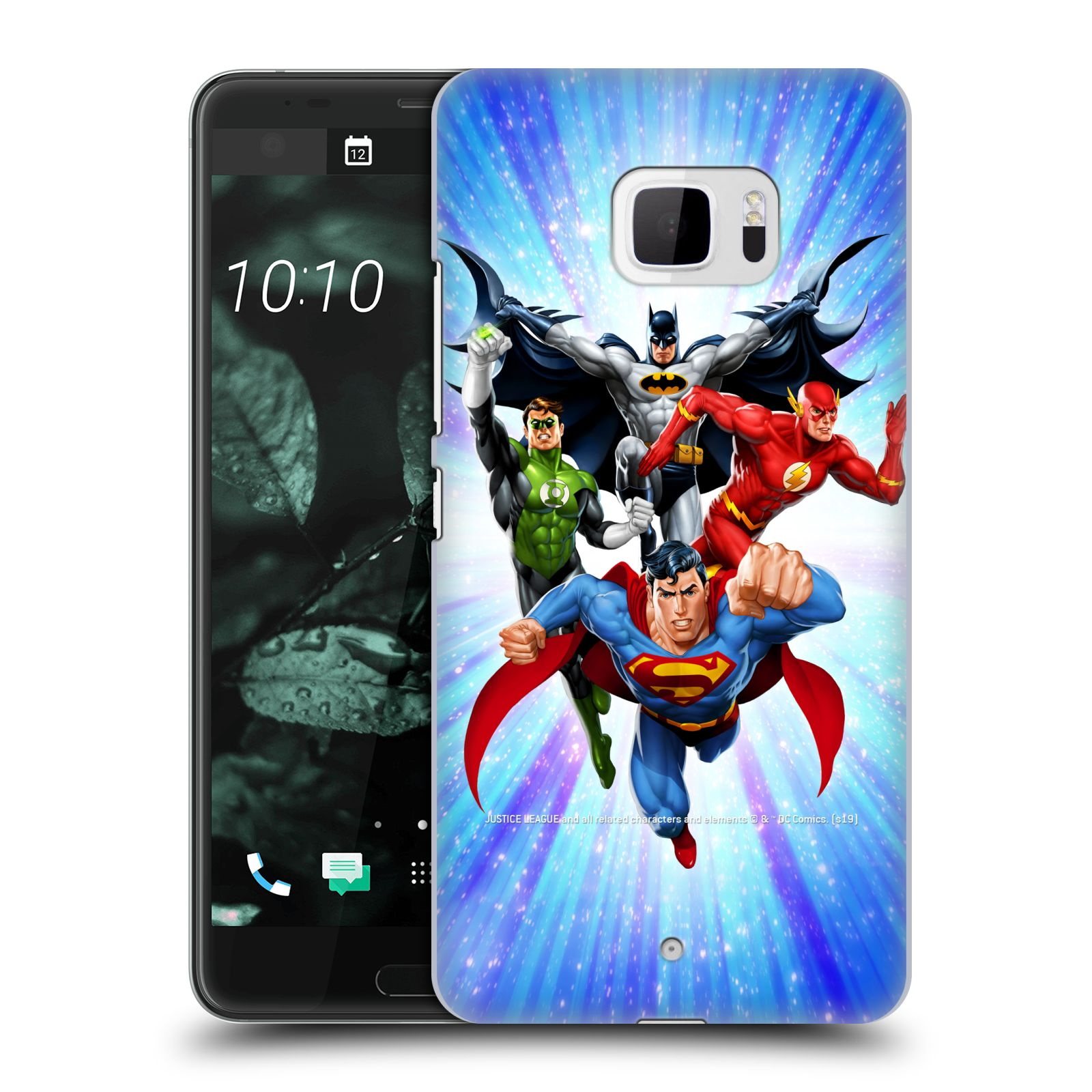 Pouzdro na mobil HTC U Ultra - HEAD CASE - DC komix Liga Spravedlivých hrdinové