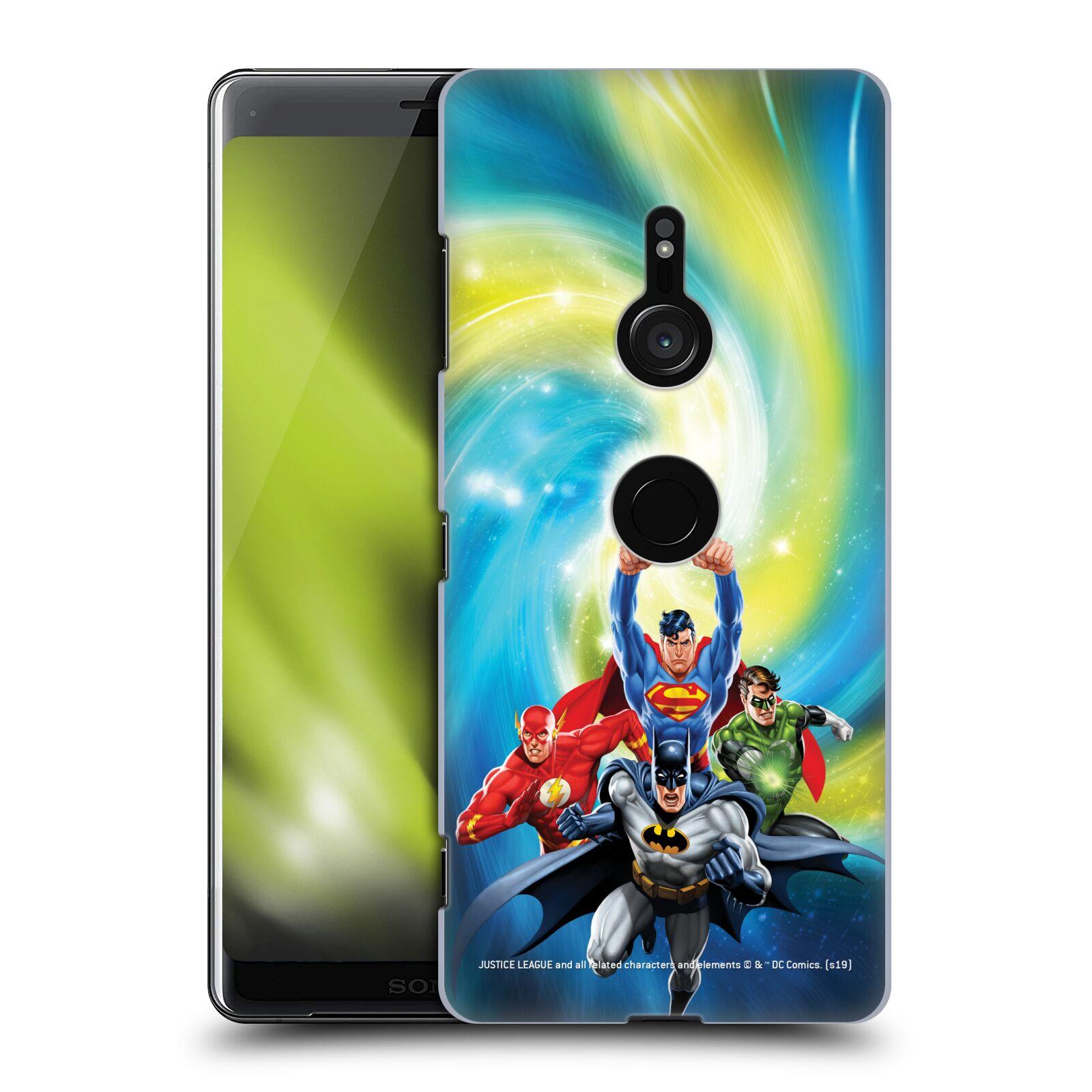 Pouzdro na mobil Sony Xperia XZ3 - HEAD CASE - DC komix Liga Spravedlivých hrdinové Batman
