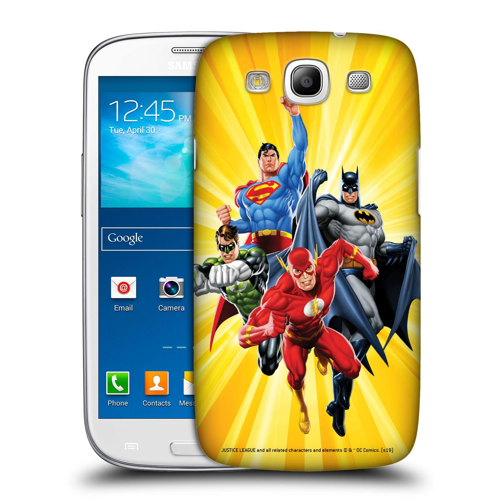 Pouzdro na mobil Samsung Galaxy S3 - HEAD CASE - DC komix Liga Spravedlivých hrdinové Flash