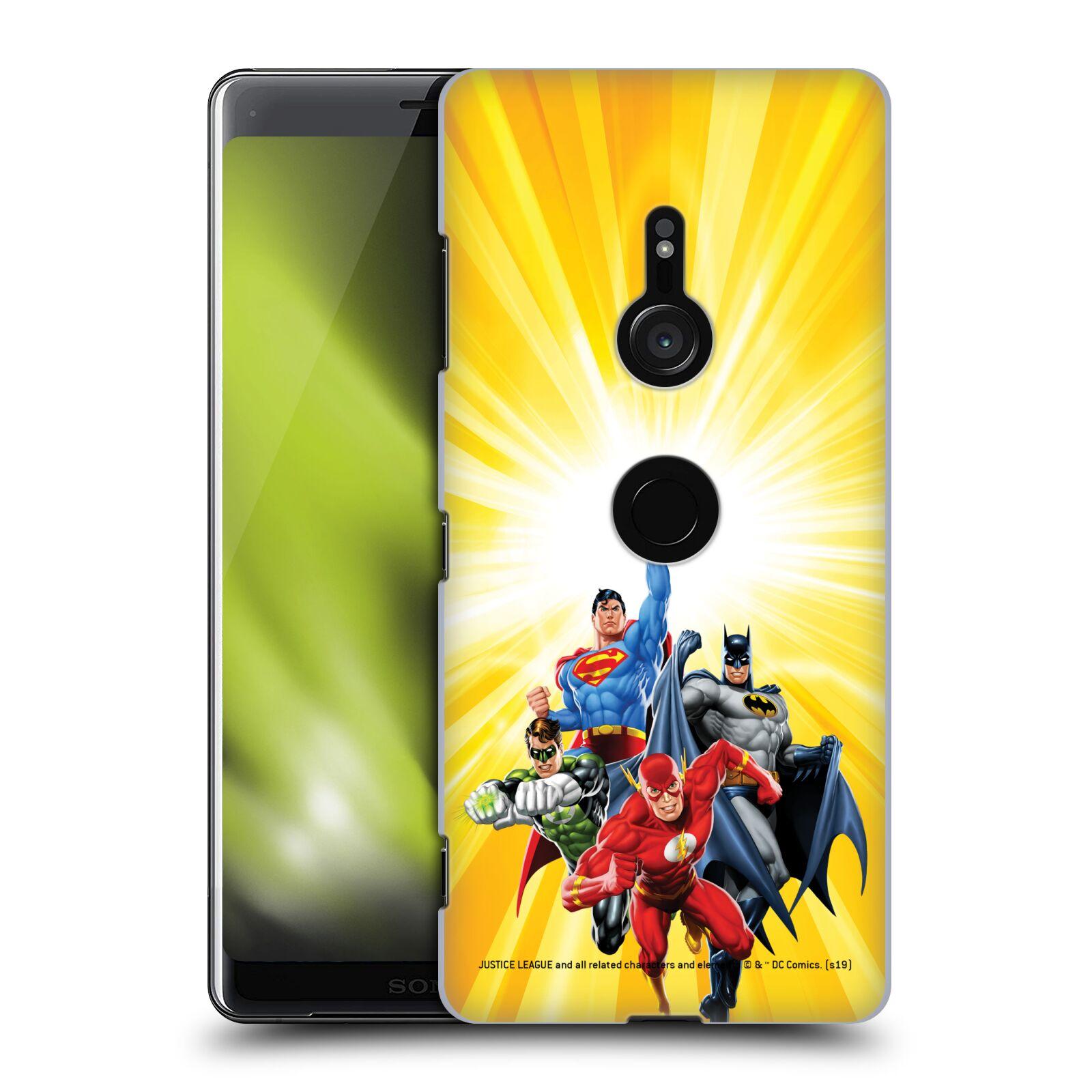 Pouzdro na mobil Sony Xperia XZ3 - HEAD CASE - DC komix Liga Spravedlivých hrdinové Flash