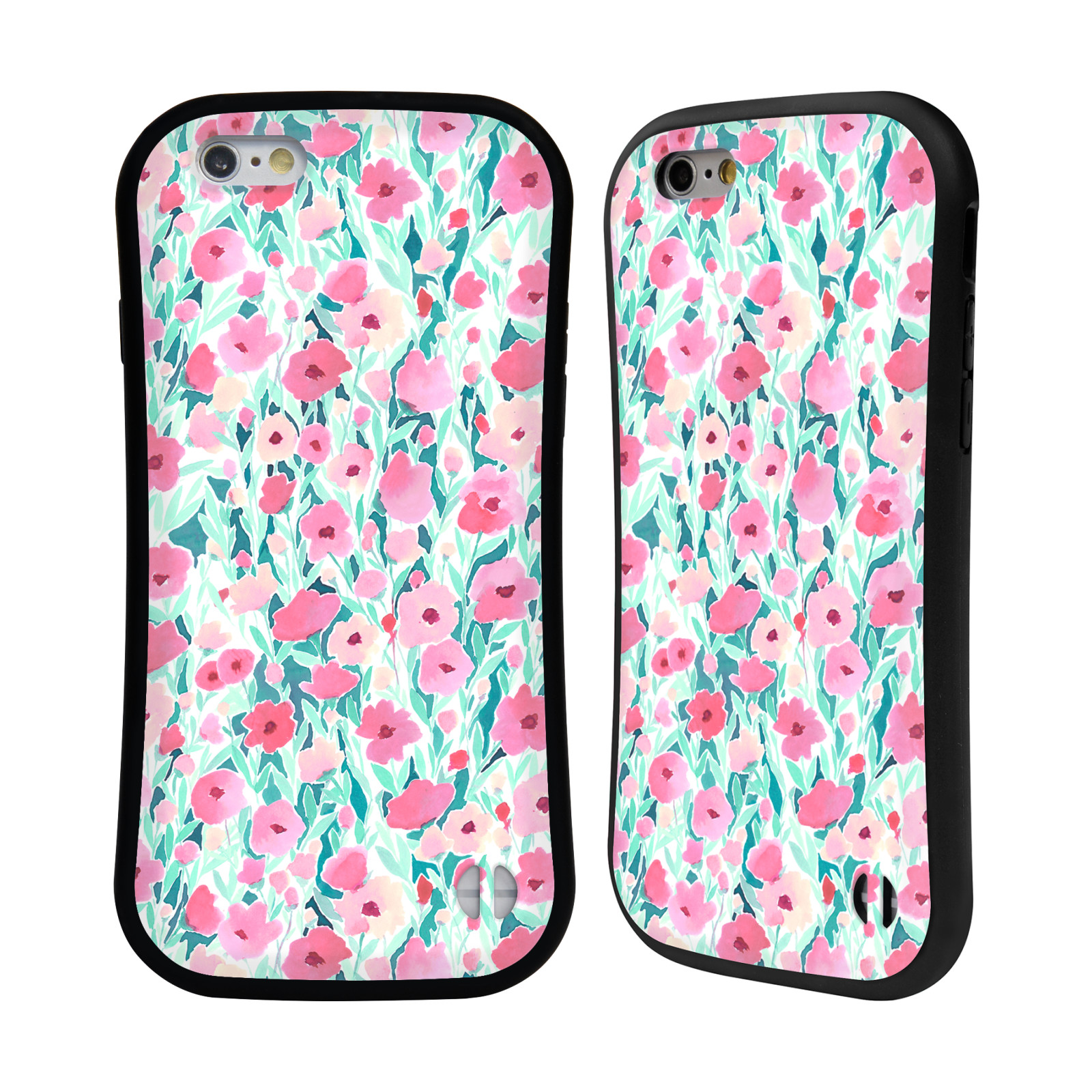 Jacqueline Maldonado Patterns-Flower Field Pink Mint