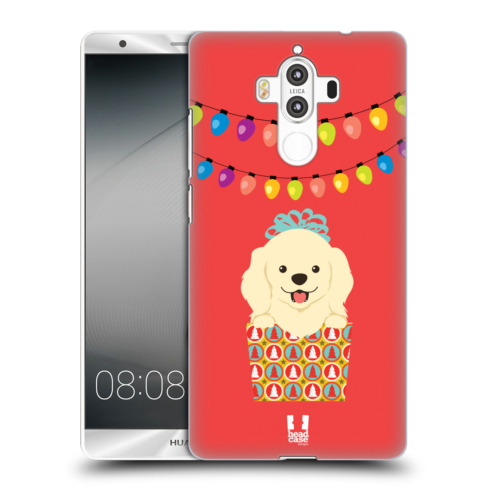 HEAD-CASE-DESIGNS-JOLLY-CHRISTMAS-TOONS-HARD-BACK-CASE-FOR-HUAWEI-MATE-9