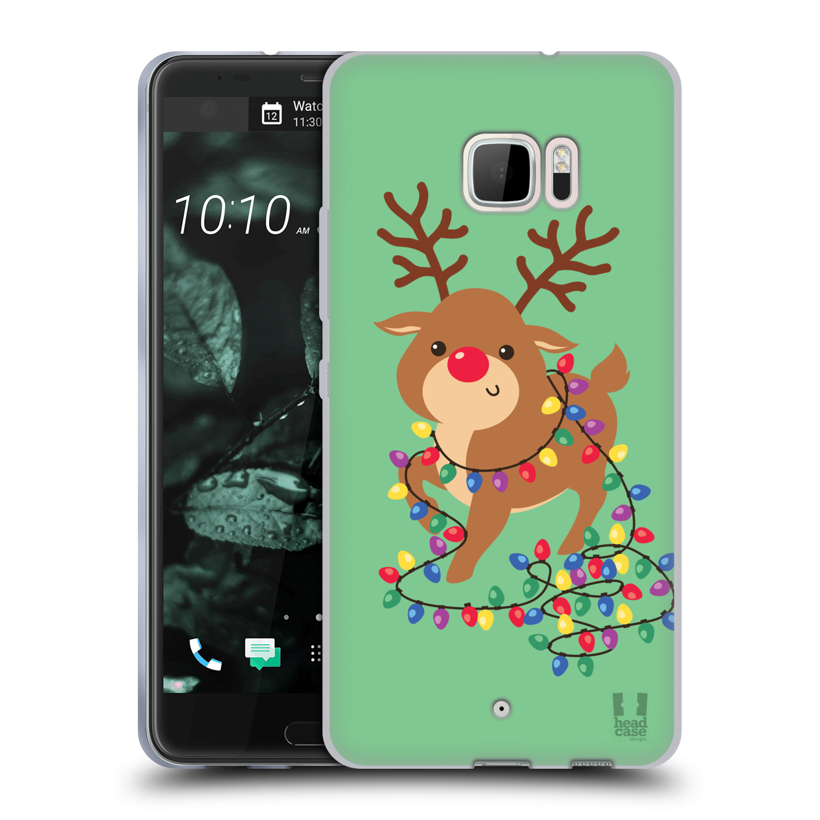 HEAD-CASE-DESIGNS-CARTONI-DI-UN-FELICE-NATALE-CASE-IN-GEL-PER-HTC-U-ULTRA