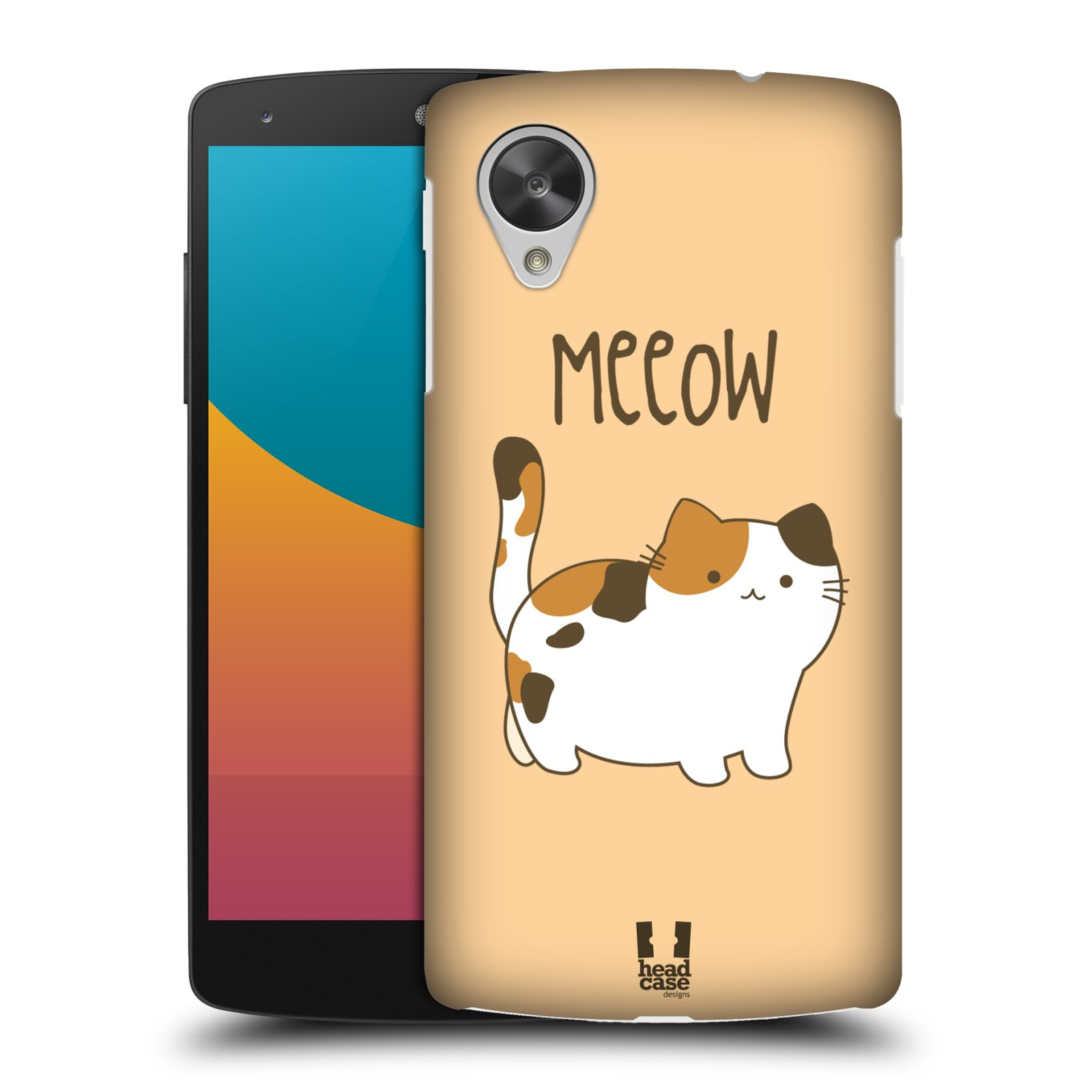 HEAD CASE KITTY CATS PROTECTIVE HARD BACK CASE COVER FOR LG GOOGLE NEXUS 5 D821