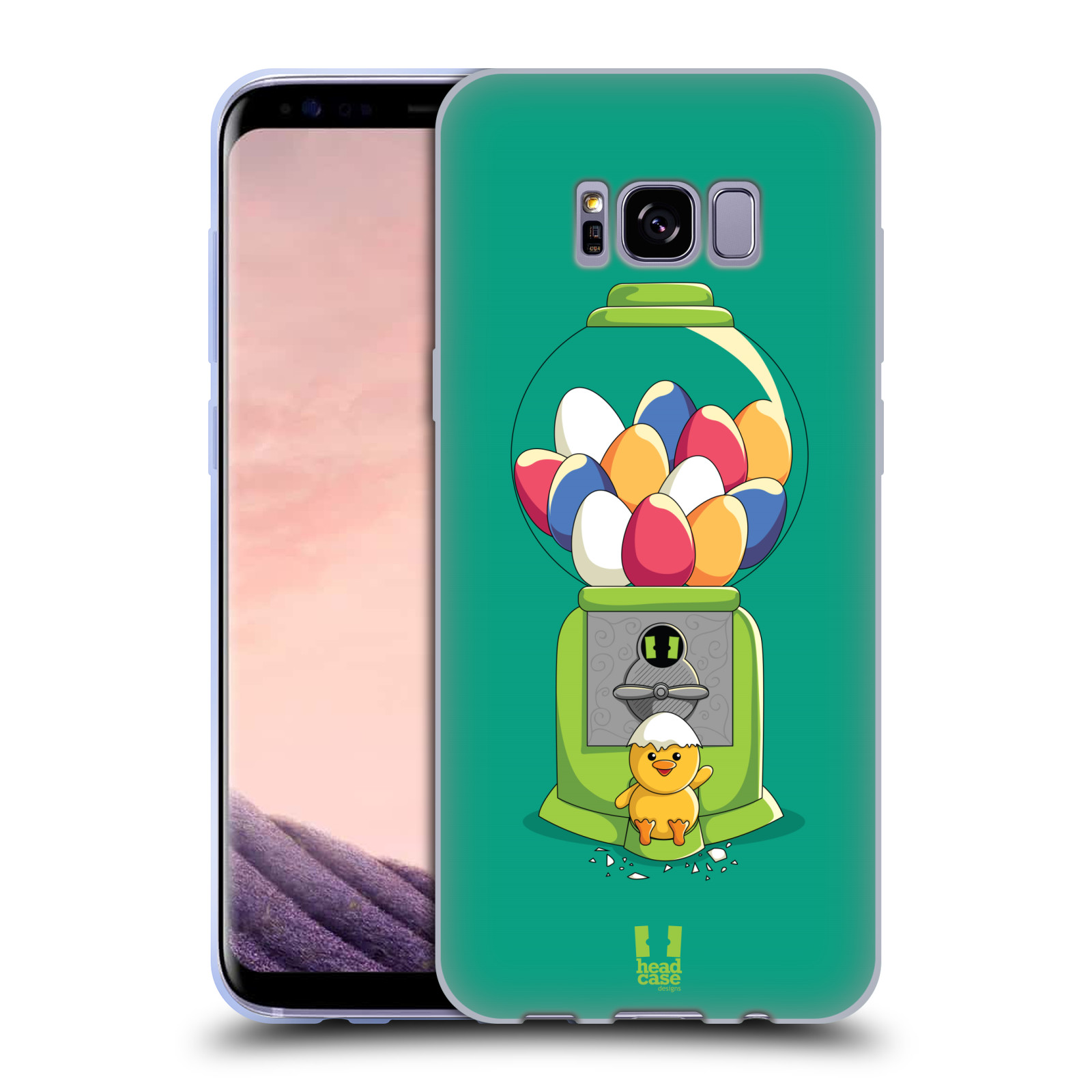 HEAD-CASE-DESIGNS-KAWAII-MACHINE-SOFT-GEL-CASE-FOR-SAMSUNG-GALAXY-S8-S8-PLUS