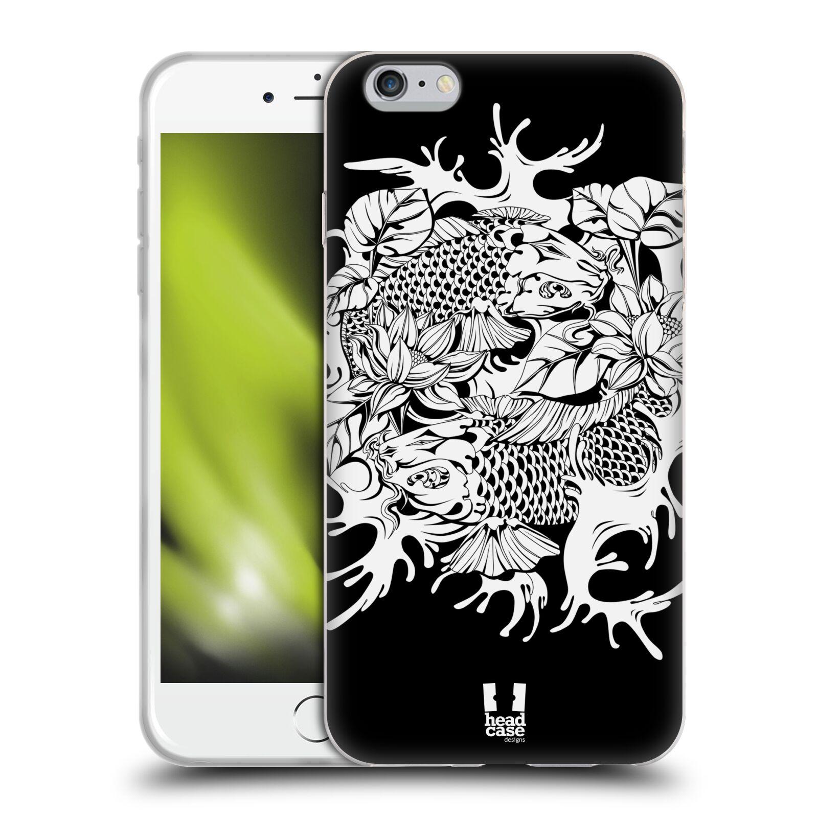 HEAD CASE silikonový obal na mobil Apple Iphone 6 PLUS/ 6S PLUS vzor Tetování ryba utsuri