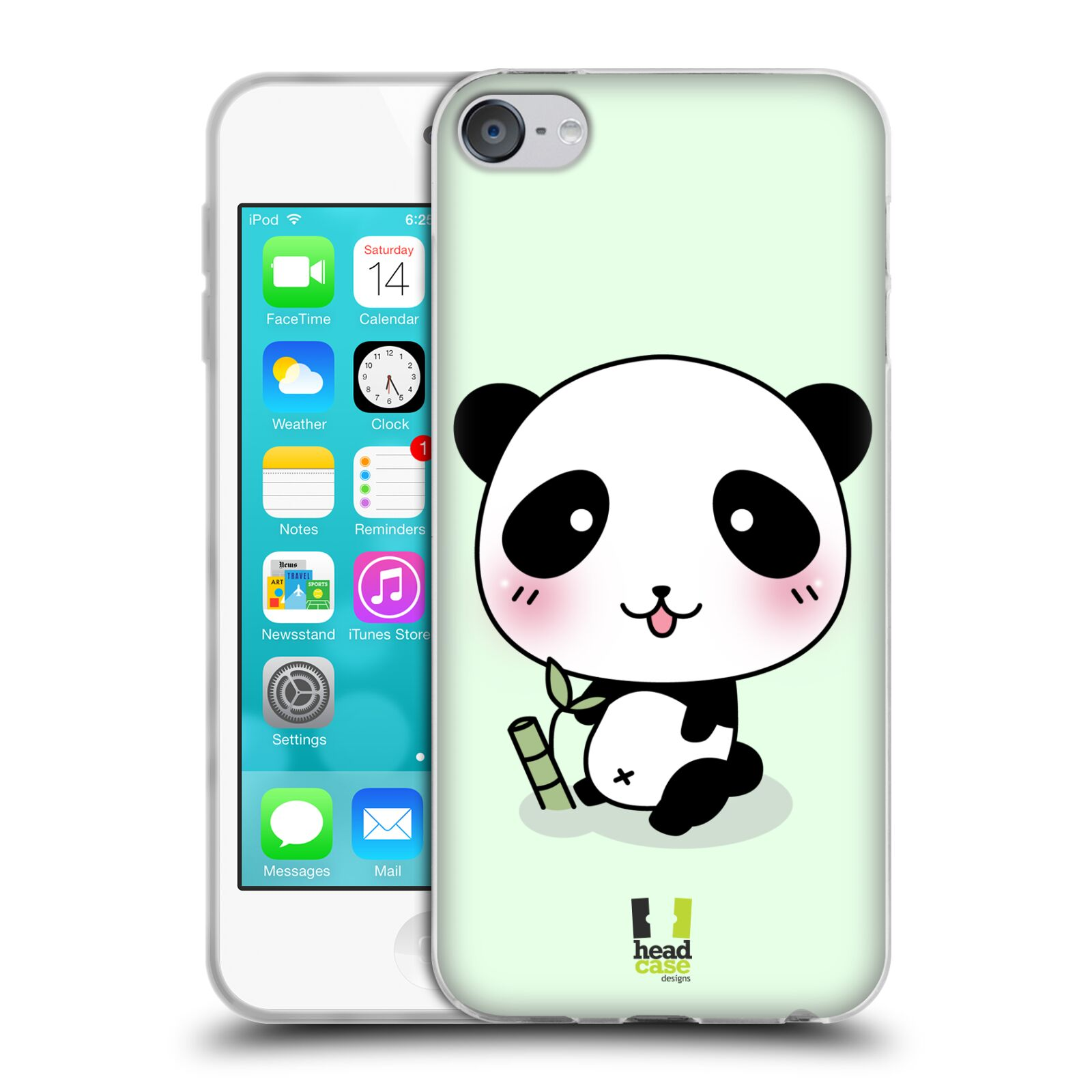 head case kawaii panda series 1 soft gel case for apple ipod touch 6g 6th gen ebay. Black Bedroom Furniture Sets. Home Design Ideas