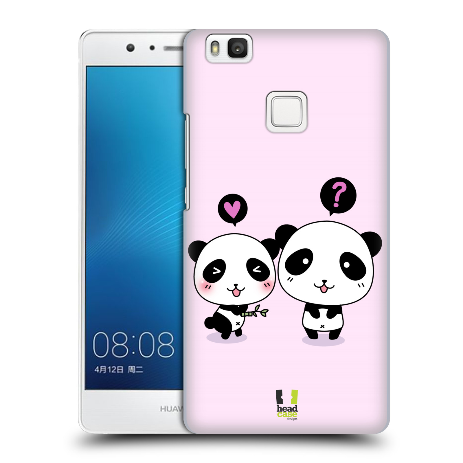 head case designs kawaii panda ruckseite h lle f r huawei. Black Bedroom Furniture Sets. Home Design Ideas