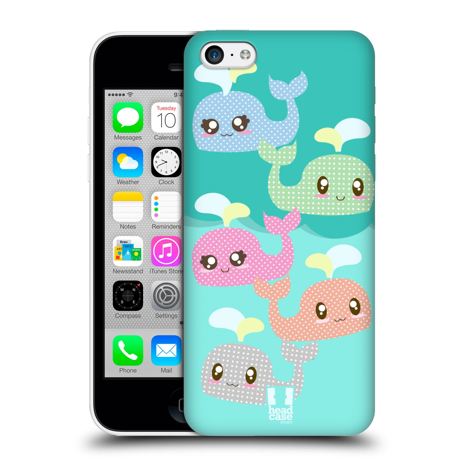 HEAD-CASE-DESIGNS-KAWAII-WHALE-PROTECTIVE-BACK-CASE-COVER-FOR-APPLE-iPHONE-5C