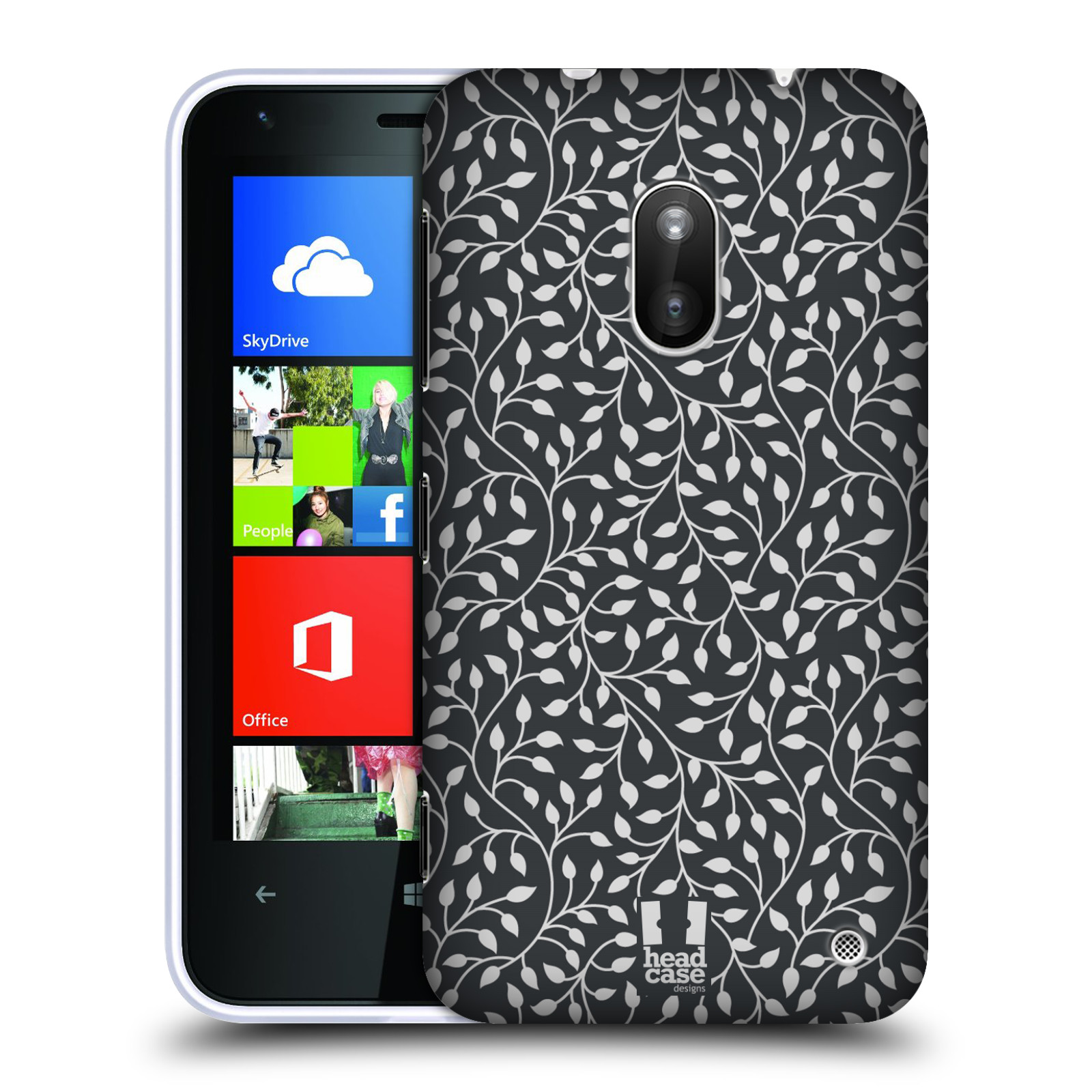 HEAD CASE DESIGNS LEAF PATTERNS 2 CASE COVER FOR NOKIA LUMIA 620