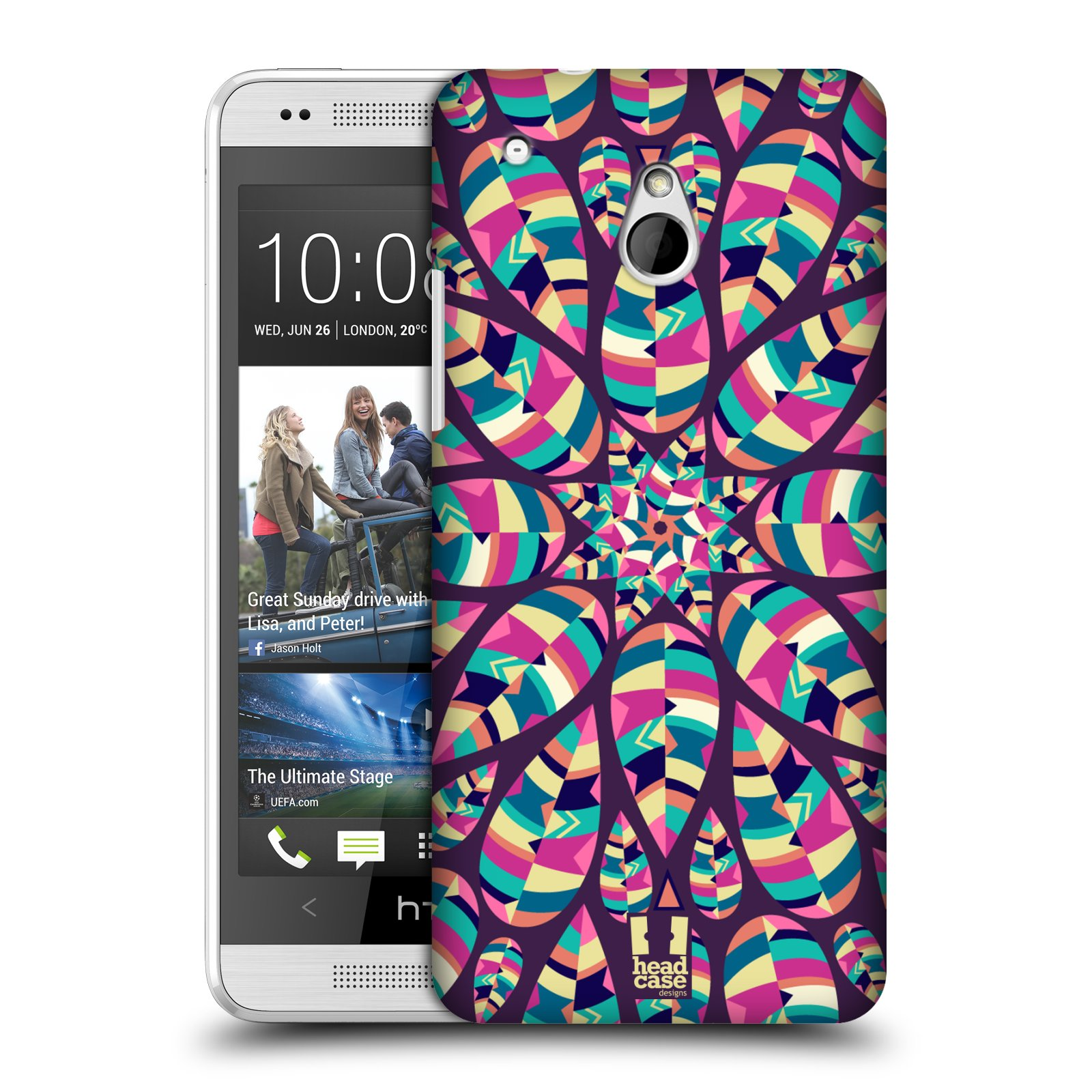 HEAD CASE DESIGNS LEAF PATTERNS 2 CASE COVER FOR HTC ONE MINI