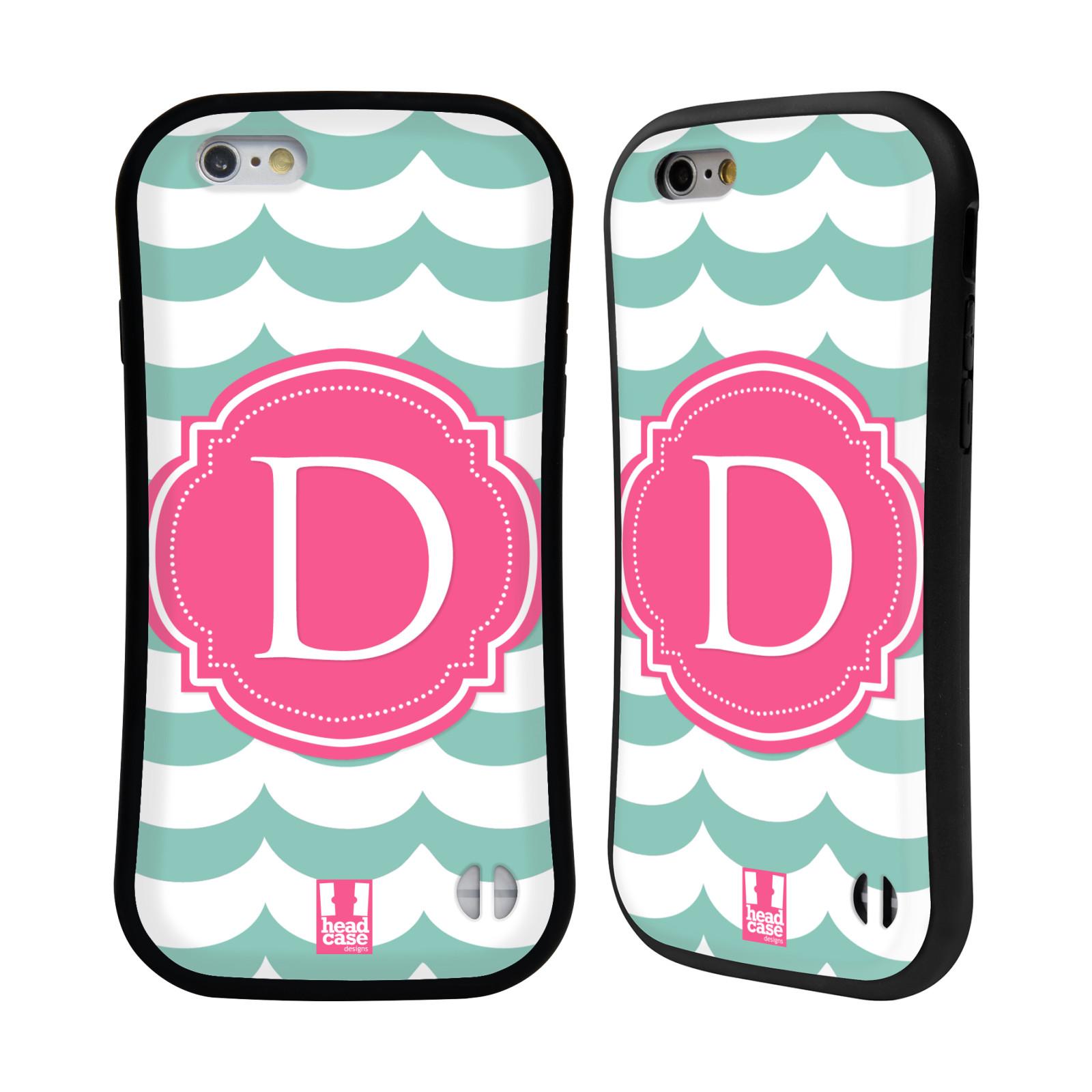 head case designs letter cases hybrid case for apple With letter phone case