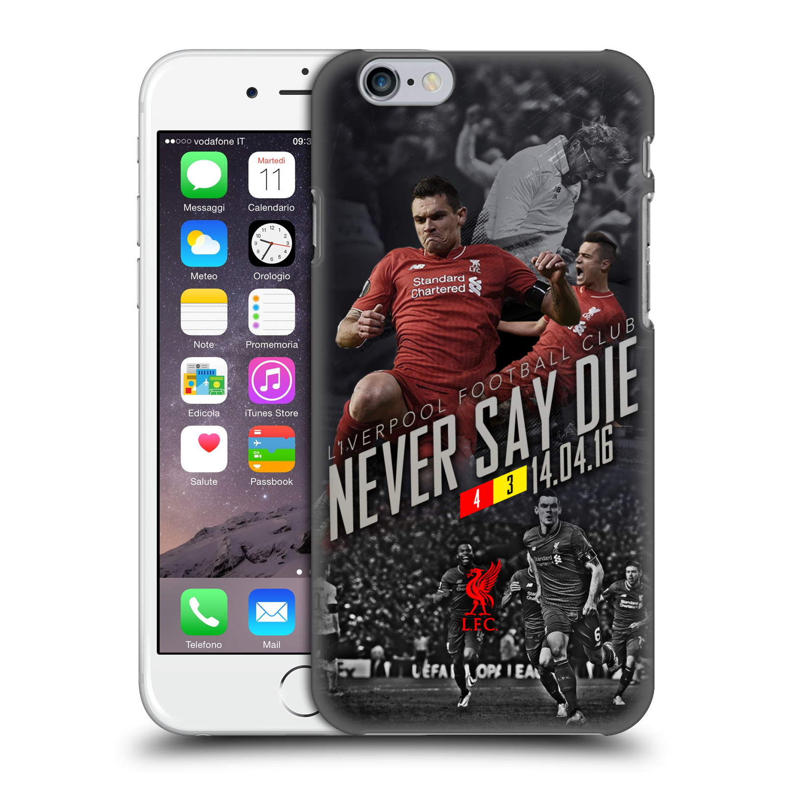 Liverpool FC LFC Anfield Magic-Never Say Die