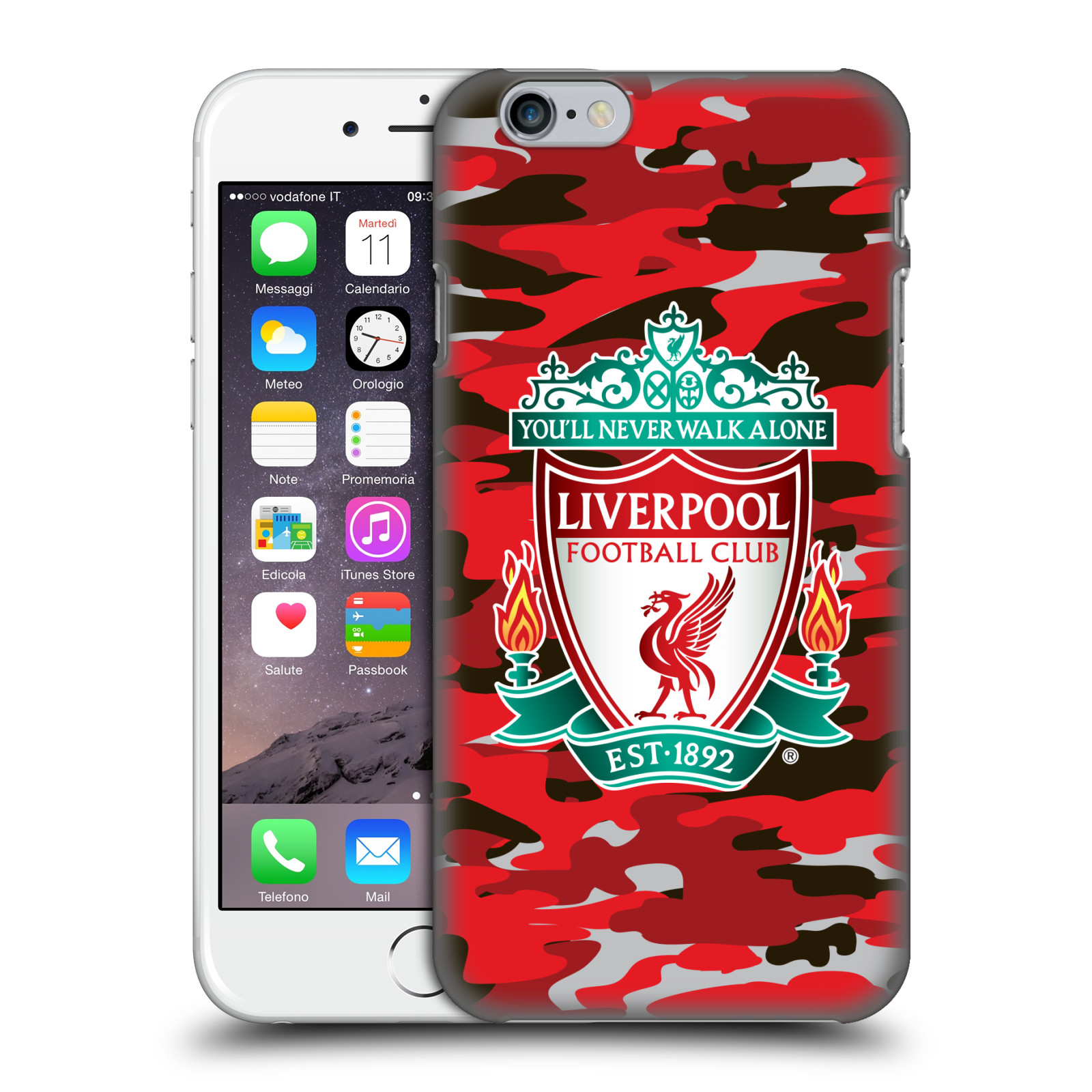 Liverpool FC LFC Camou-Club Colourways Crest