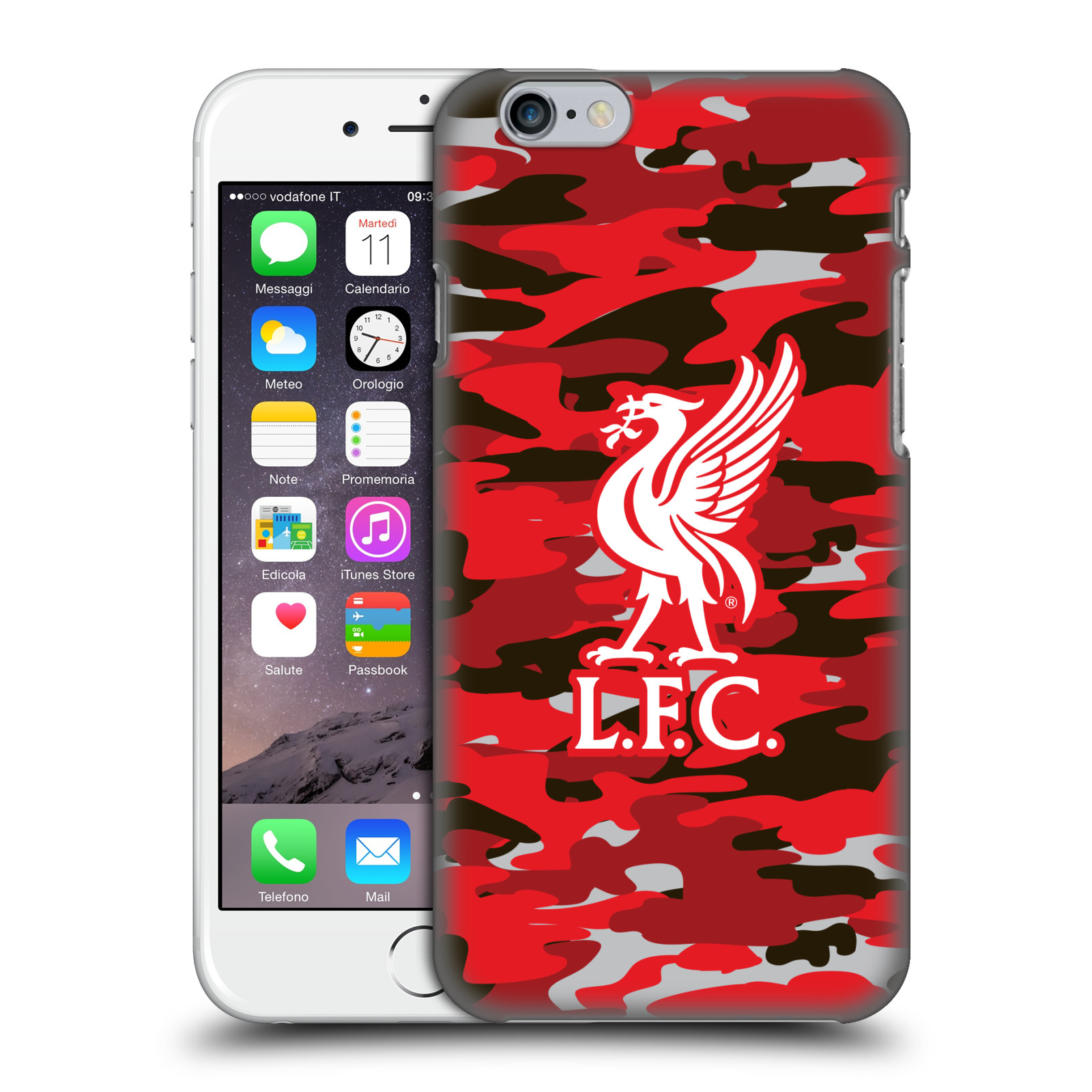 Liverpool FC LFC Camou-Club Colourways Liver Bird