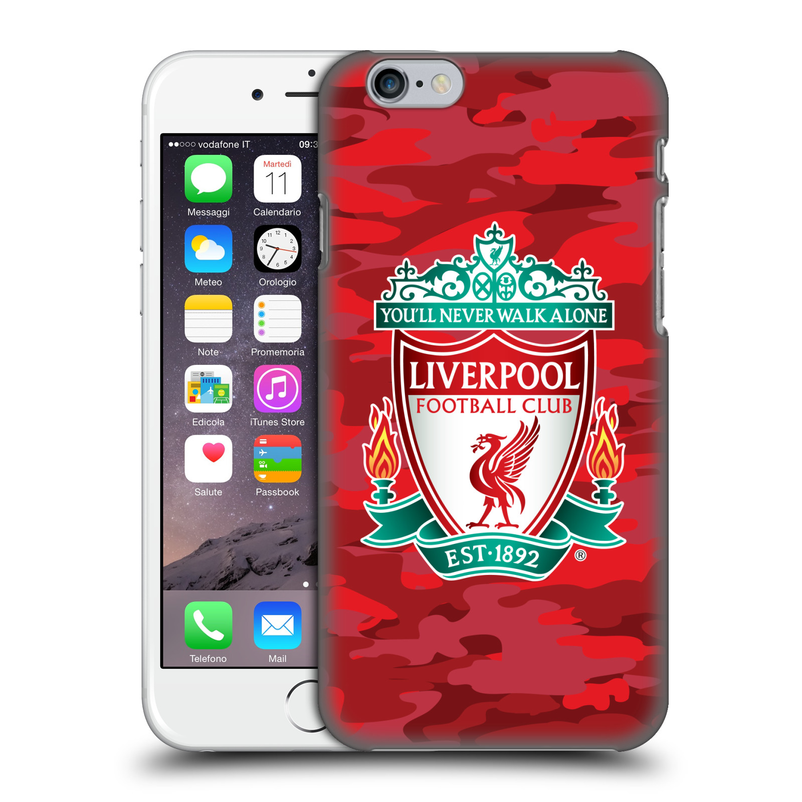 Liverpool FC LFC Camou-Home Colourways Crest