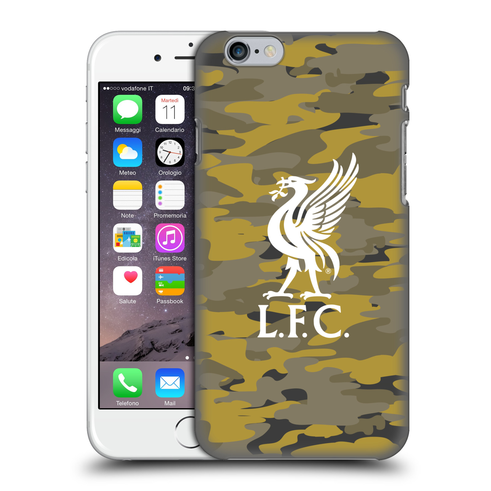 Liverpool FC LFC Camou-Royal Colourways Liver Bird