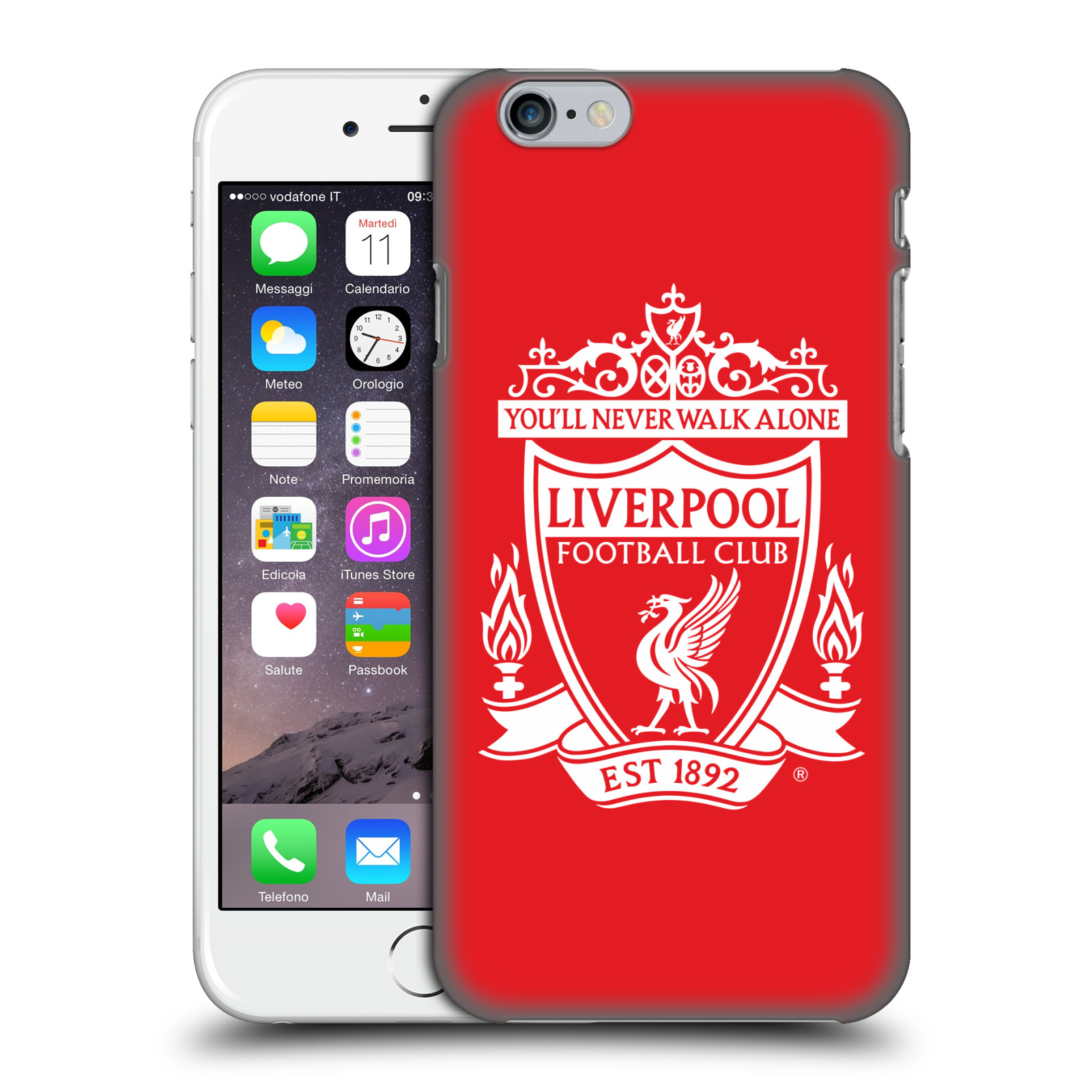 Liverpool FC LFC Crest 1-Red 2