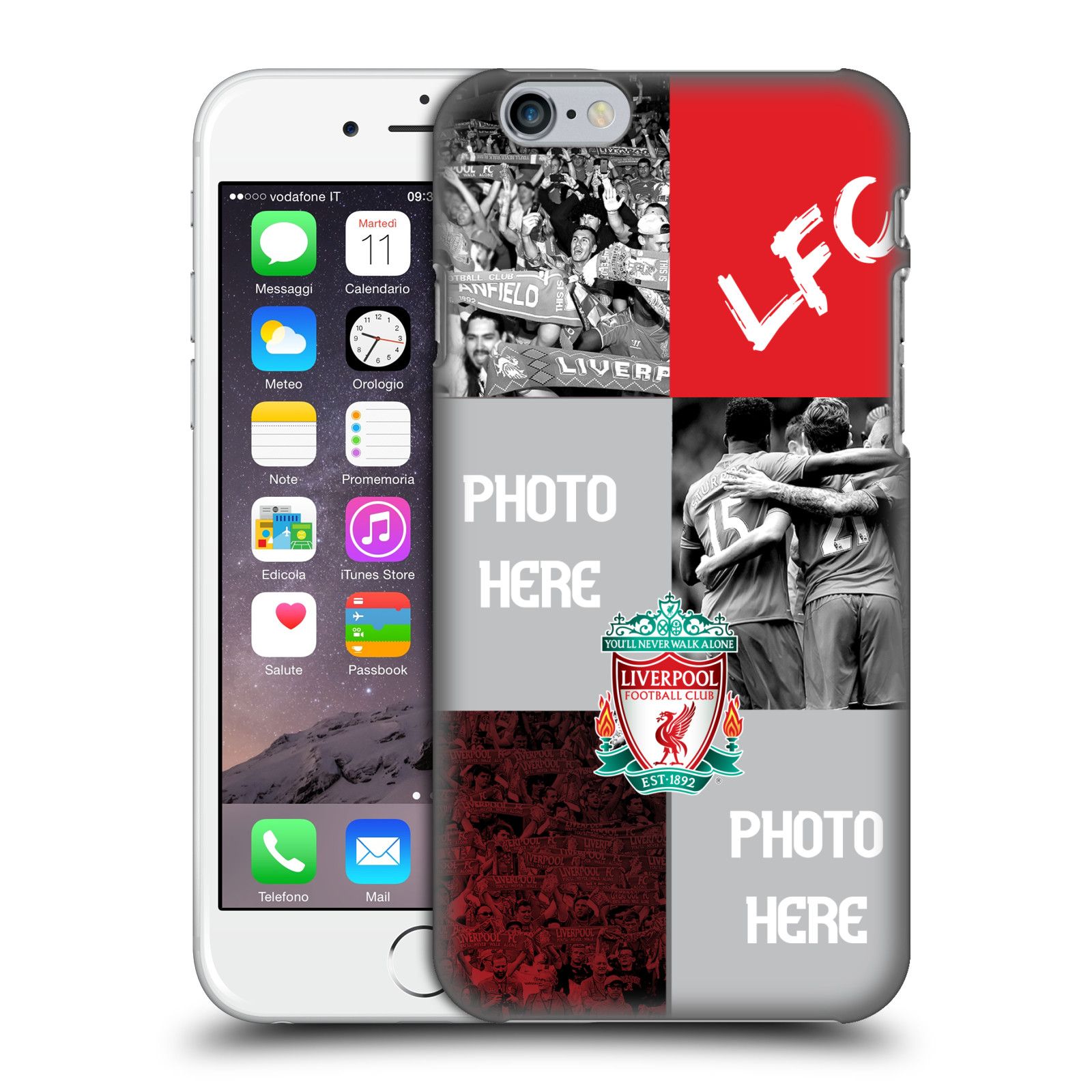 Liverpool FC LFC Personalised-Celebration Crest