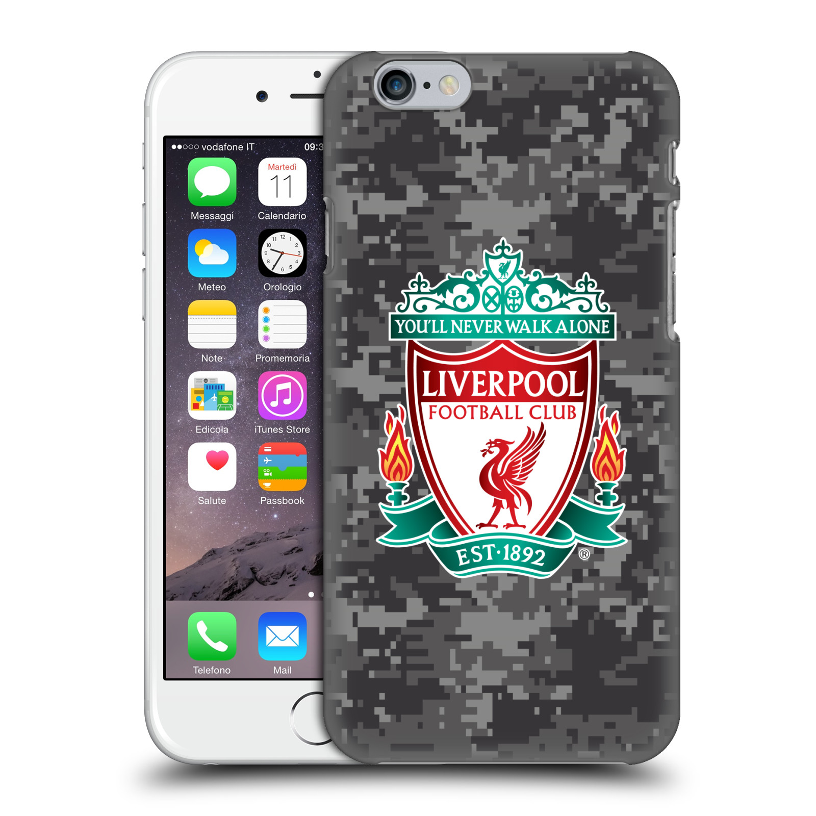 Liverpool FC LFC Digital Camouflage-Away Colours Crest