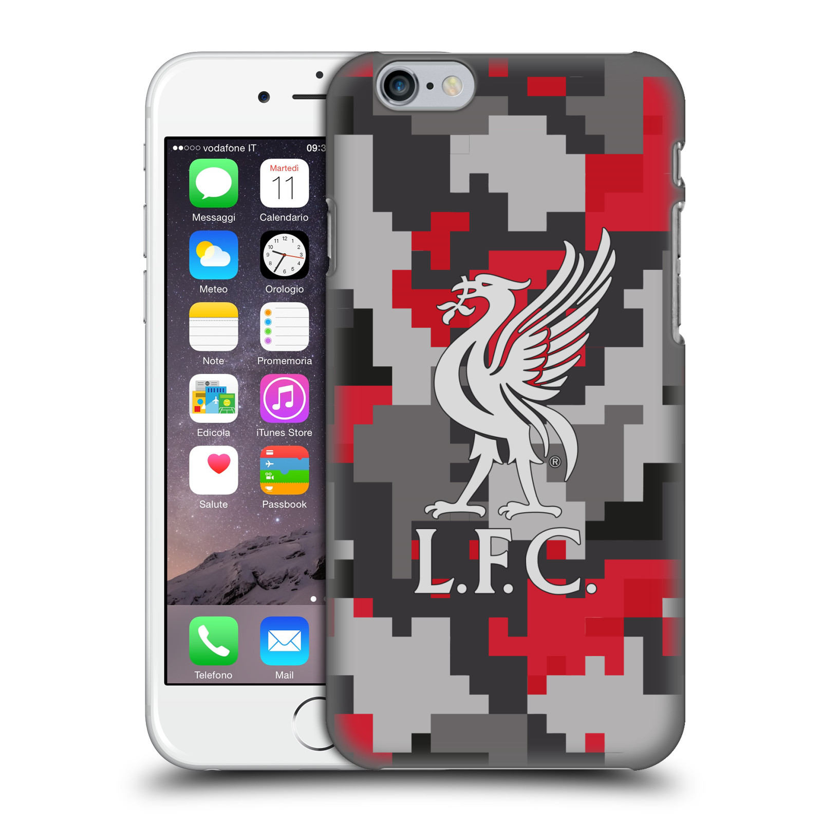 Liverpool FC LFC Digital Camouflage-Club Colours